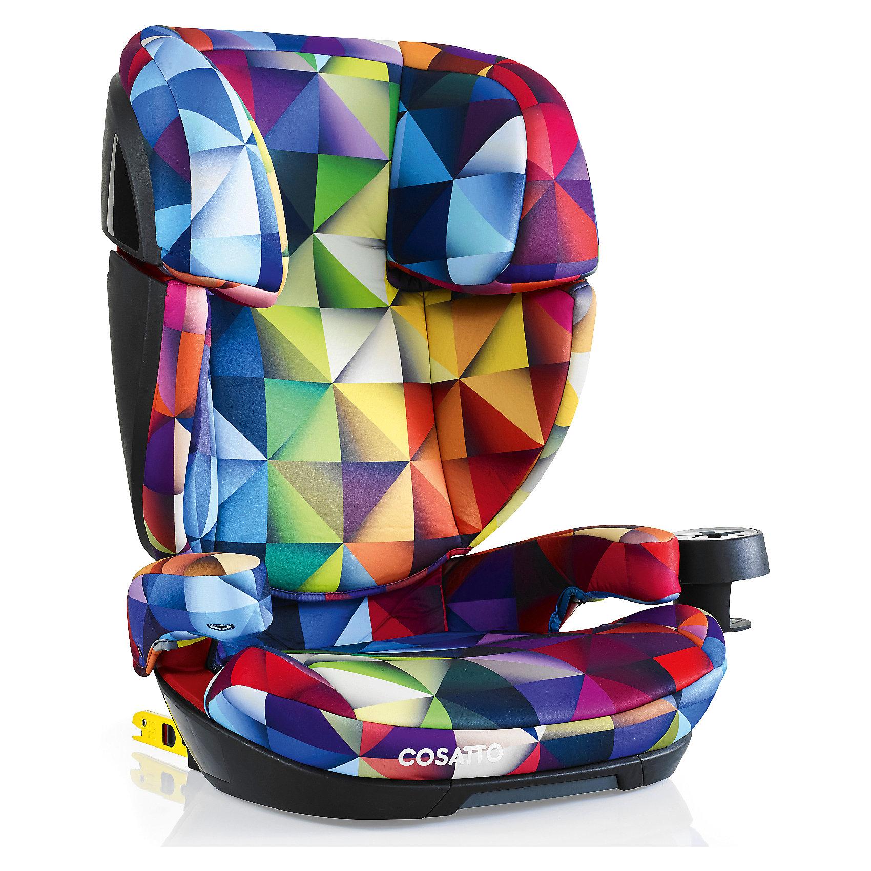 Автокресло Cosatto Skippa Isofix, 15-36 кг., SpectroluxeГруппа 2-3 (От 15 до 36 кг)<br>Автокресло 2017 года Cosatto Skippa Fix было создано для наиболее комфортных и максимально безопасных поездок в автомобиле. Модель предназначена для детей от 4 до 12 лет.<br><br>Особенностями автокресла являются надежная боковая защита, мягкое удобное сиденье и съемный держатель для напитков.<br><br>Характеристики:<br><br>    Для детей от 4 до 12 лет, весом от 15 до 36 кг<br>    Устанавливается в автомобиле лицом по ходу движения с помощью штатных 3-точечных ремней безопасности либо системы крепления Isofix<br>    Надежная защита от боковых ударов<br>    2 положения по наклону<br>    Спинка, регулируемая по высоте<br>    Комфортное мягкое сиденье<br>    Съемный подстаканник<br>    Моющиеся чехлы<br>    Соответствует европейскому стандарту ECE R44/04<br><br>Ширина мм: 750<br>Глубина мм: 450<br>Высота мм: 330<br>Вес г: 8000<br>Возраст от месяцев: -2147483648<br>Возраст до месяцев: 2147483647<br>Пол: Унисекс<br>Возраст: Детский<br>SKU: 5629504