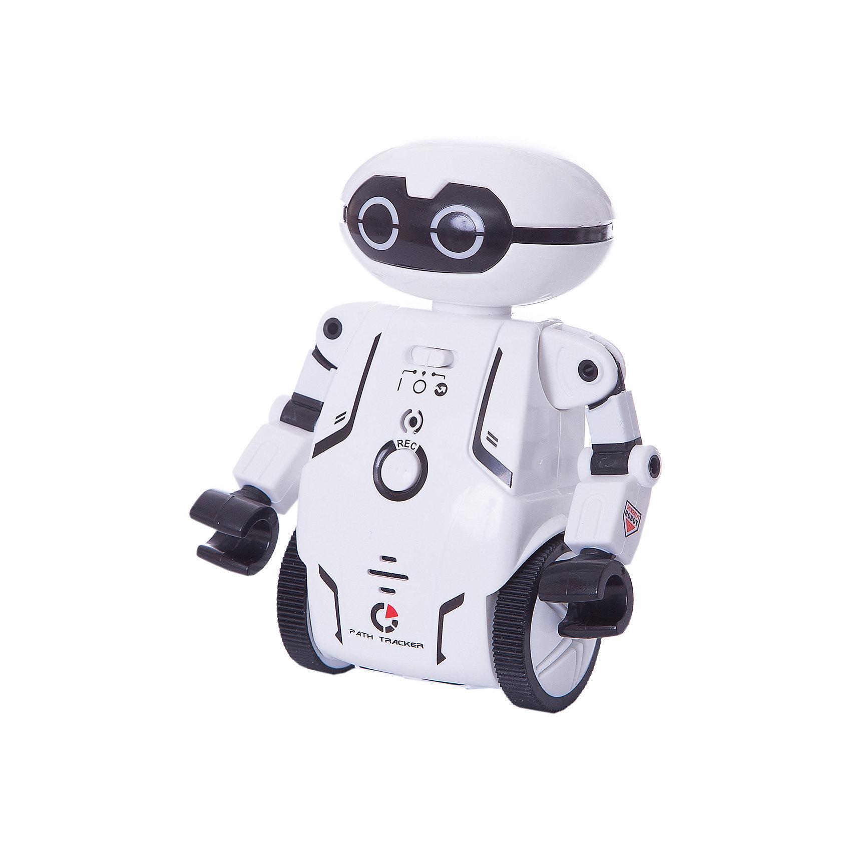 Робот Мэйз брейкер (Maze Breaker), Silverlit, белыйРоботы<br>Характеристики товара:<br><br>• возраст: от 5 лет;<br>• материал: пластик;<br>• в комплекте: робот, путевая карта, инструкция;<br>• тип батареек: 2 батарейки ААА;<br>• наличие батареек: нет в комплекте;<br>• высота робота: 12,5 см;<br>• размер упаковки: 20,8х18,4х9,3 см;<br>• вес упаковки: 303 гр.;<br>• страна производитель: Китай.<br><br>Робот Maze Breaker Sirverlit белый — удивительный робот, который умеет двигаться, говорить и кататься по определенному маршруту. Робот работает в нескольких режимах. В режиме «Игра» Мейз Брейкер двигается, танцует и записывает голос. <br><br>Нажав на кнопку на груди робота, ребенок произнесет фразу, которую робот сохранит в памяти и затем воспроизведет. Чтобы послушать ее, достаточно щелкнуть пальцами или хлопнуть в ладоши. Он может сохранять до 3 записей. <br><br>В режиме «Определение маршрута» робот двигается по заданному направлению на специальном листе благодаря сенсорным датчикам. Он определяет заданный путь и четко следует указаниям, а может также прогуляться по лабиринту.<br><br>Робот оснащен световыми и звуковыми эффектами, делающими игру с ним еще увлекательней. У него горят глаза, а во время движения он издает звуки. Управлять роботом можно при помощи бесплатного мобильного приложения. <br><br>Робота Maze Breaker Sirverlit белого можно приобрести в нашем интернет-магазине.<br><br>Ширина мм: 208<br>Глубина мм: 184<br>Высота мм: 93<br>Вес г: 303<br>Возраст от месяцев: 60<br>Возраст до месяцев: 2147483647<br>Пол: Унисекс<br>Возраст: Детский<br>SKU: 5631988