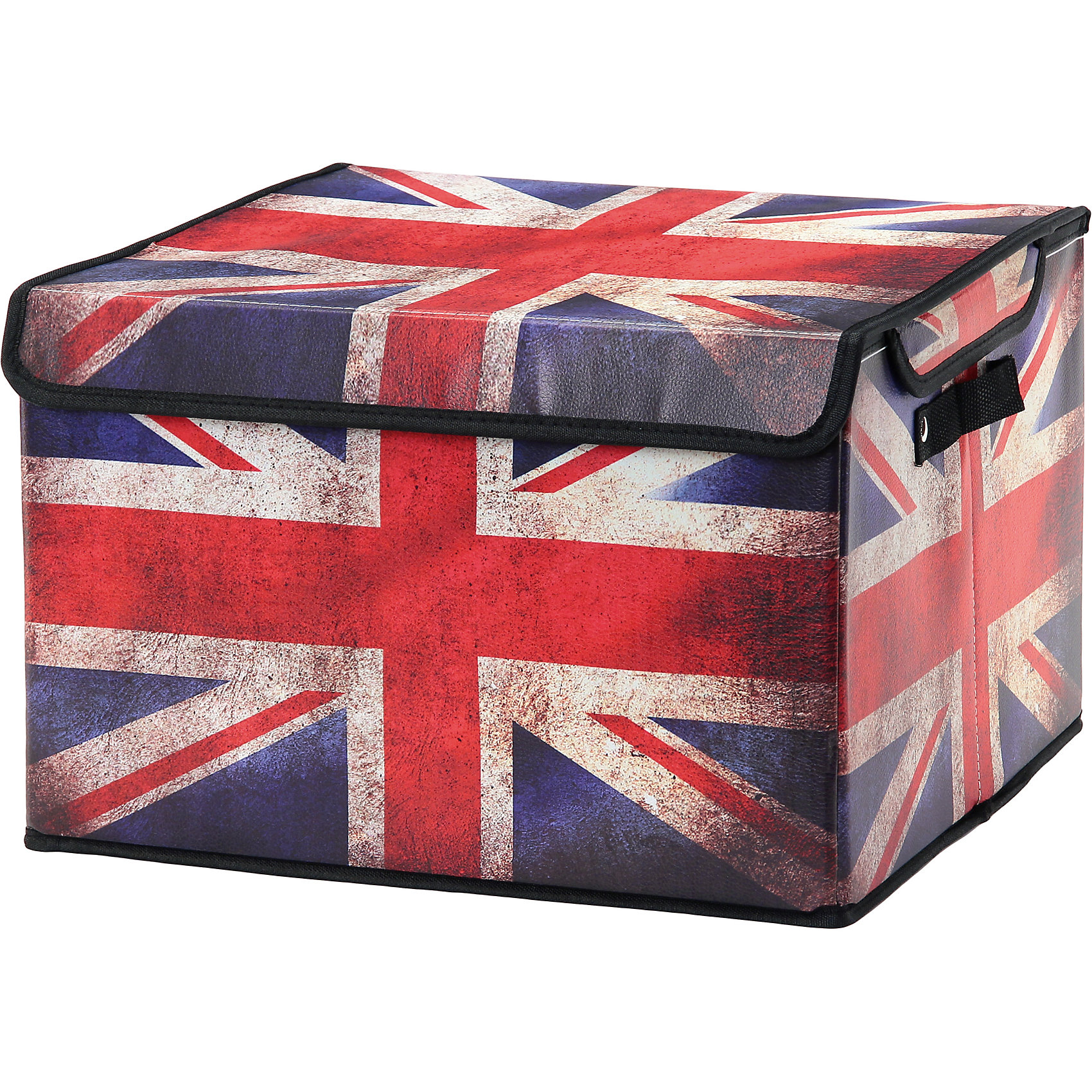 Кофр складной для хранения 41*36*26 см. Британский флаг, EL CasaПорядок в детской<br>Характеристики товара:<br><br>• цвет: мульти<br>• материал: текстиль, искусственная кожа<br>• размер: 41х36х26 см<br>• вес: 500 г<br>• застежка: липучка<br>• декорирован принтом<br>• складывается и раскладывается одним движением<br>• удобный<br>• с двумя ручками<br>• универсальный размер<br>• страна бренда: Российская Федерация<br>• страна производства: Китай<br><br>Такой кофр - отличный пример красивой и функциональной вещи для любого интерьера. В нем удобной хранить различные мелочи, благодаря универсальному дизайну и расцветке он хорошо будет смотреться в помещении.<br><br>Кофр с жёстким каркасом для хранения может стать отличным приобретением для дома или подарком для любителей красивых оригинальных вещей.<br><br>Бренд EL Casa - это красивые и практичные товары для дома с современным дизайном. Они добавляют в жильё уюта и комфорта! <br><br>Кофр складной для хранения 41*36*26 см. Британский флаг, EL Casa можно купить в нашем интернет-магазине.<br><br>Ширина мм: 410<br>Глубина мм: 360<br>Высота мм: 20<br>Вес г: 1375<br>Возраст от месяцев: 0<br>Возраст до месяцев: 1188<br>Пол: Унисекс<br>Возраст: Детский<br>SKU: 6668663