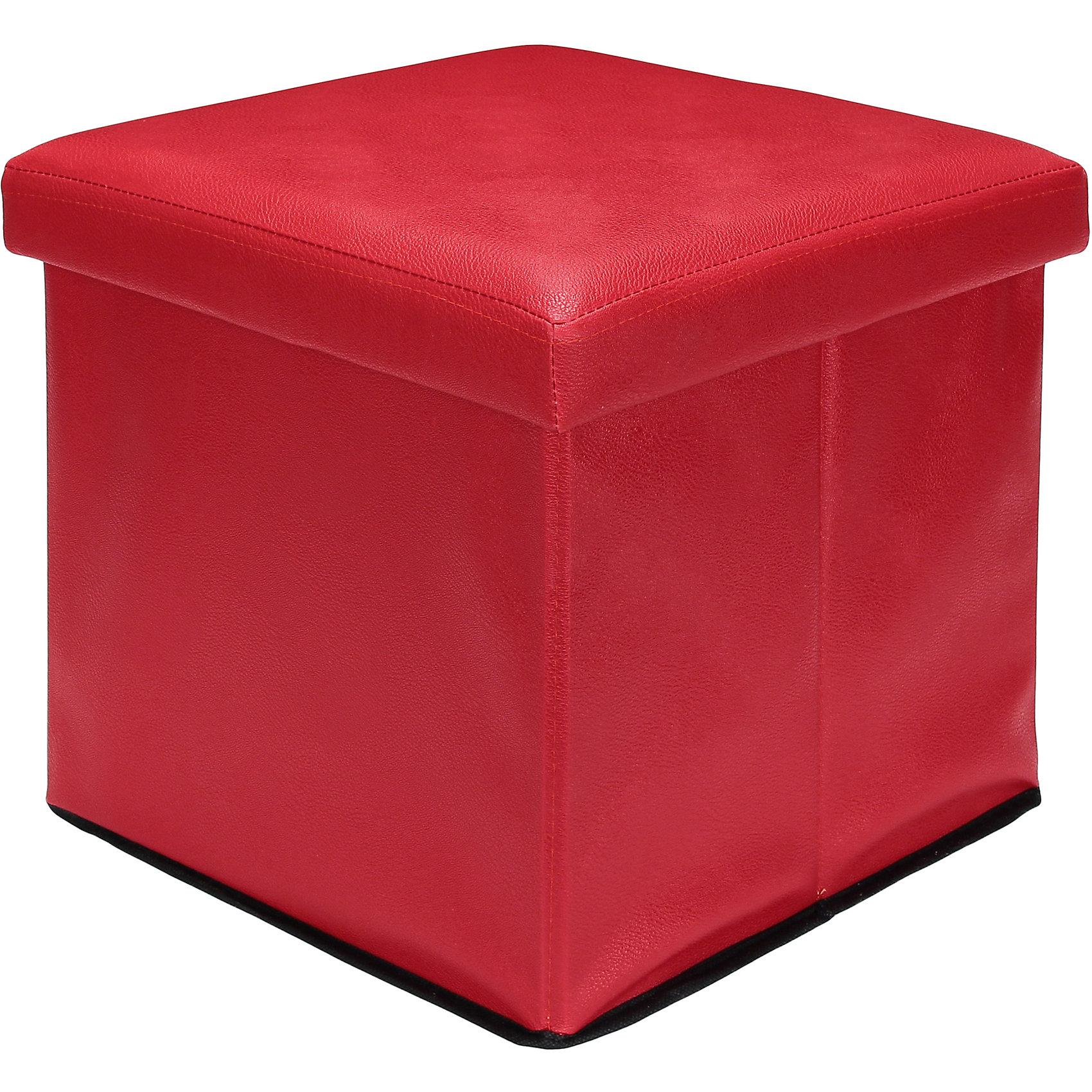 Пуф складной с ящиком для хранения 35*35*35 см. Красный, EL CasaПорядок в детской<br>Характеристики товара:<br><br>• цвет: красный<br>• материал: МДФ, экокожа<br>• размер: 35 х 35 х 35 см<br>• вес: 1000 г<br>• легко складывается<br>• с ящиком для хранения<br>• удобный<br>• вместительный<br>• универсальный размер<br>• страна бренда: Российская Федерация<br>• страна производства: Китай<br><br>Такой пуф - отличный пример красивой и функциональной вещи для любого интерьера. В нем удобной хранить различные мелочи, благодаря универсальному дизайну и расцветке он хорошо будет смотреться в помещении.<br><br>Пуф для хранения может стать отличным приобретением для дома или подарком для любителей красивых оригинальных вещей.<br><br>Бренд EL Casa - это красивые и практичные товары для дома с современным дизайном. Они добавляют в жильё уюта и комфорта! <br><br>Пуф складной с ящиком для хранения 35*35*35 см. Красный, EL Casa можно купить в нашем интернет-магазине.<br><br>Ширина мм: 350<br>Глубина мм: 350<br>Высота мм: 50<br>Вес г: 2050<br>Возраст от месяцев: 0<br>Возраст до месяцев: 1188<br>Пол: Унисекс<br>Возраст: Детский<br>SKU: 6668683