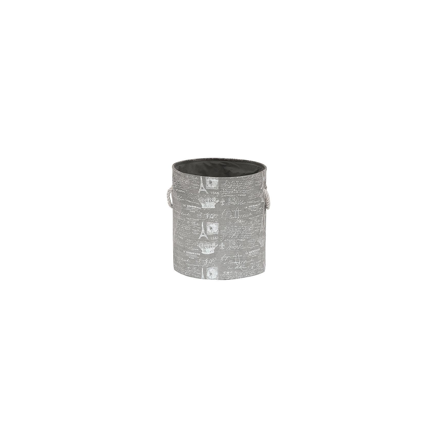 Кофр складной для хранения 38*38*45 см. Париж серебро, EL CasaПорядок в детской<br>Кофр складной мягкий для хранения имеет форму цилиндра. Не имеет жестких вставок, при этом держит форму и имеет эстетичный вид. Легко слкадывается и раскладывается, подходит для размещения в шкафу.<br><br>Ширина мм: 380<br>Глубина мм: 380<br>Высота мм: 70<br>Вес г: 500<br>Возраст от месяцев: 0<br>Возраст до месяцев: 1188<br>Пол: Унисекс<br>Возраст: Детский<br>SKU: 6668719