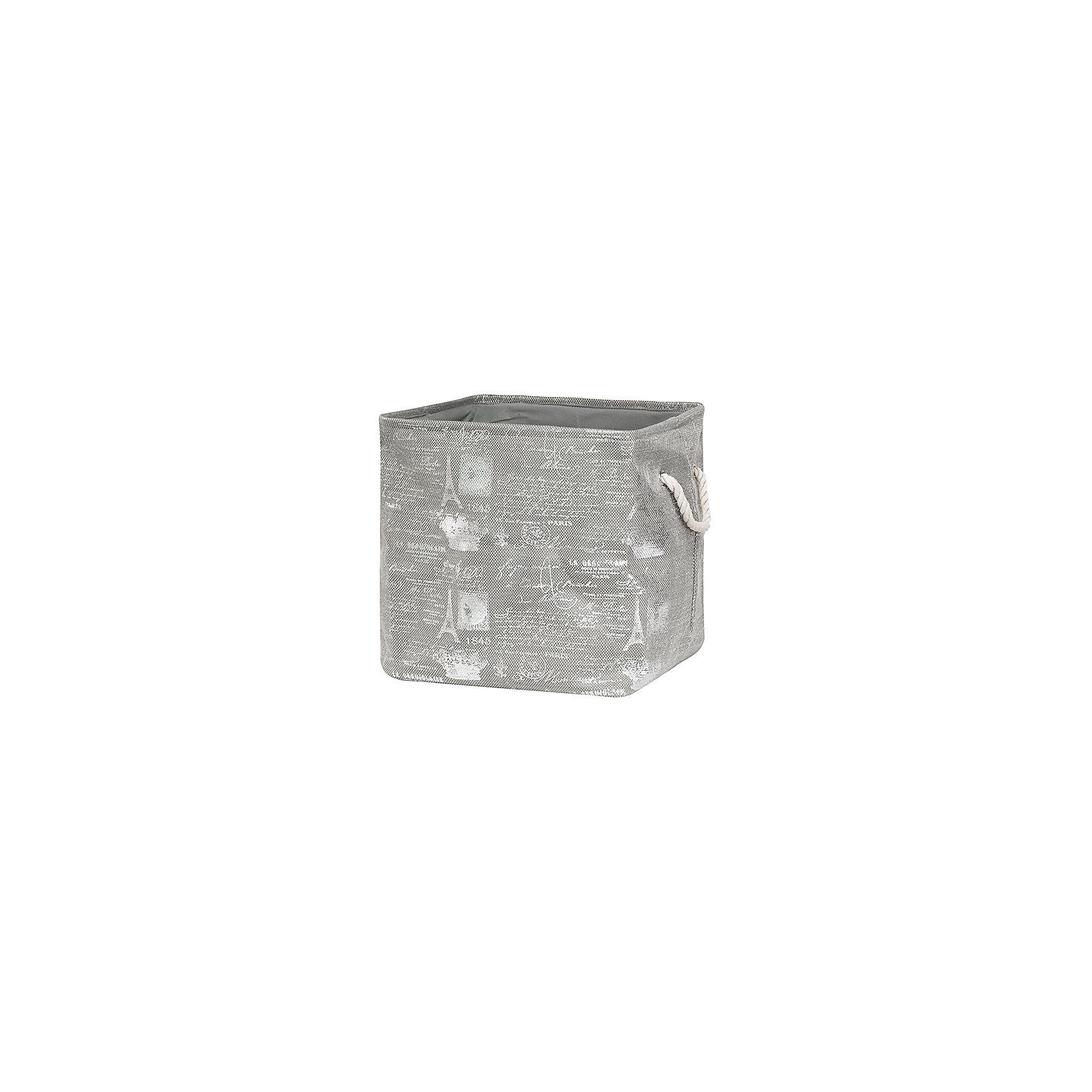 Кофр складной для хранения 40*35*40 см. Париж серебро, EL CasaПорядок в детской<br>Кофр складной мягкий для хранения имеет прямоугольную форму. Не имеет жестких вставок, при этом держит форму и имеет эстетичный вид. Легко слкадывается и раскладывается, подходит для размещения в шкафу.<br><br>Ширина мм: 400<br>Глубина мм: 360<br>Высота мм: 70<br>Вес г: 567<br>Возраст от месяцев: 0<br>Возраст до месяцев: 1188<br>Пол: Унисекс<br>Возраст: Детский<br>SKU: 6668724