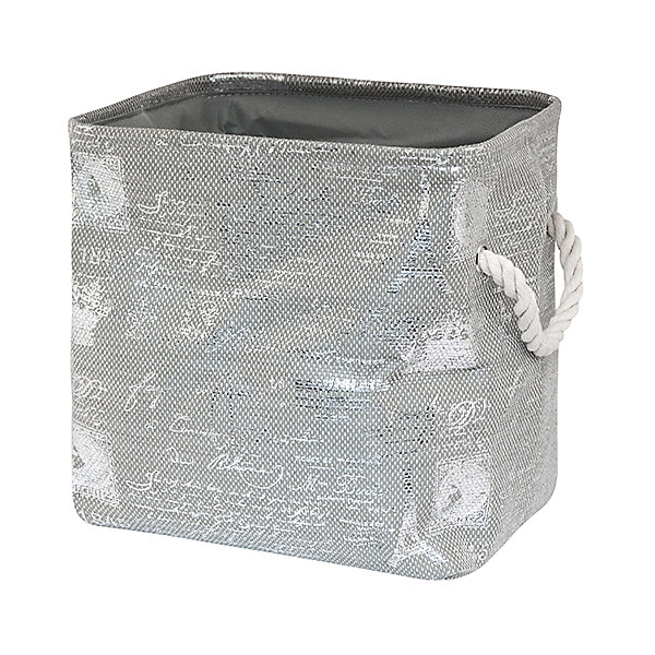 Кофр складной для хранения 30*25*30 см. Париж серебро, EL CasaОрганайзеры для одежды<br>Характеристики товара:<br><br>• цвет: мульти<br>• материал: текстиль (полиэстер)<br>• размер: 30 х 25 х 30 см<br>• вес: 400 г<br>• декорирован принтом<br>• с жестким каркасом<br>• легко складывается и раскладывается<br>• удобный<br>• с ручками<br>• универсальный размер<br>• страна бренда: Российская Федерация<br>• страна производства: Китай<br><br>Такой кофр - отличный пример красивой и функциональной вещи для любого интерьера. В нем удобной хранить различные мелочи, благодаря универсальному дизайну и расцветке он хорошо будет смотреться в помещении.<br><br>Кофр с жёстким каркасом для хранения может стать отличным приобретением для дома или подарком для любителей красивых оригинальных вещей.<br><br>Бренд EL Casa - это красивые и практичные товары для дома с современным дизайном. Они добавляют в жильё уюта и комфорта! <br><br>Кофр складной для хранения 30*25*30 см Париж серебро, EL Casa можно купить в нашем интернет-магазине.<br>Ширина мм: 310; Глубина мм: 260; Высота мм: 60; Вес г: 367; Возраст от месяцев: 0; Возраст до месяцев: 1188; Пол: Унисекс; Возраст: Детский; SKU: 6668725;