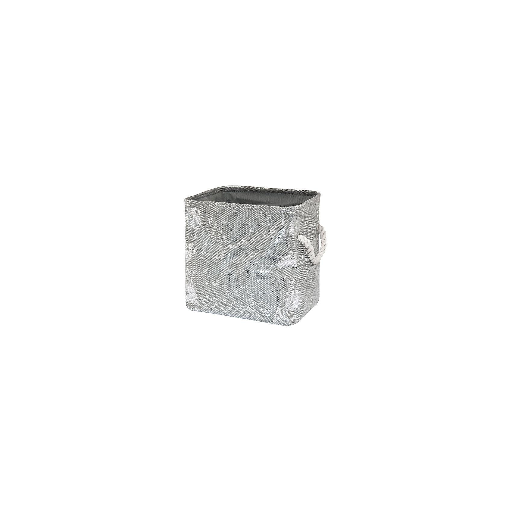 Кофр складной для хранения 30*25*30 см. Париж серебро, EL CasaПорядок в детской<br>Кофр складной мягкий для хранения имеет прямоугольную форму. Не имеет жестких вставок, при этом держит форму и имеет эстетичный вид. Легко слкадывается и раскладывается, подходит для размещения в шкафу.<br><br>Ширина мм: 310<br>Глубина мм: 260<br>Высота мм: 60<br>Вес г: 367<br>Возраст от месяцев: 0<br>Возраст до месяцев: 1188<br>Пол: Унисекс<br>Возраст: Детский<br>SKU: 6668725