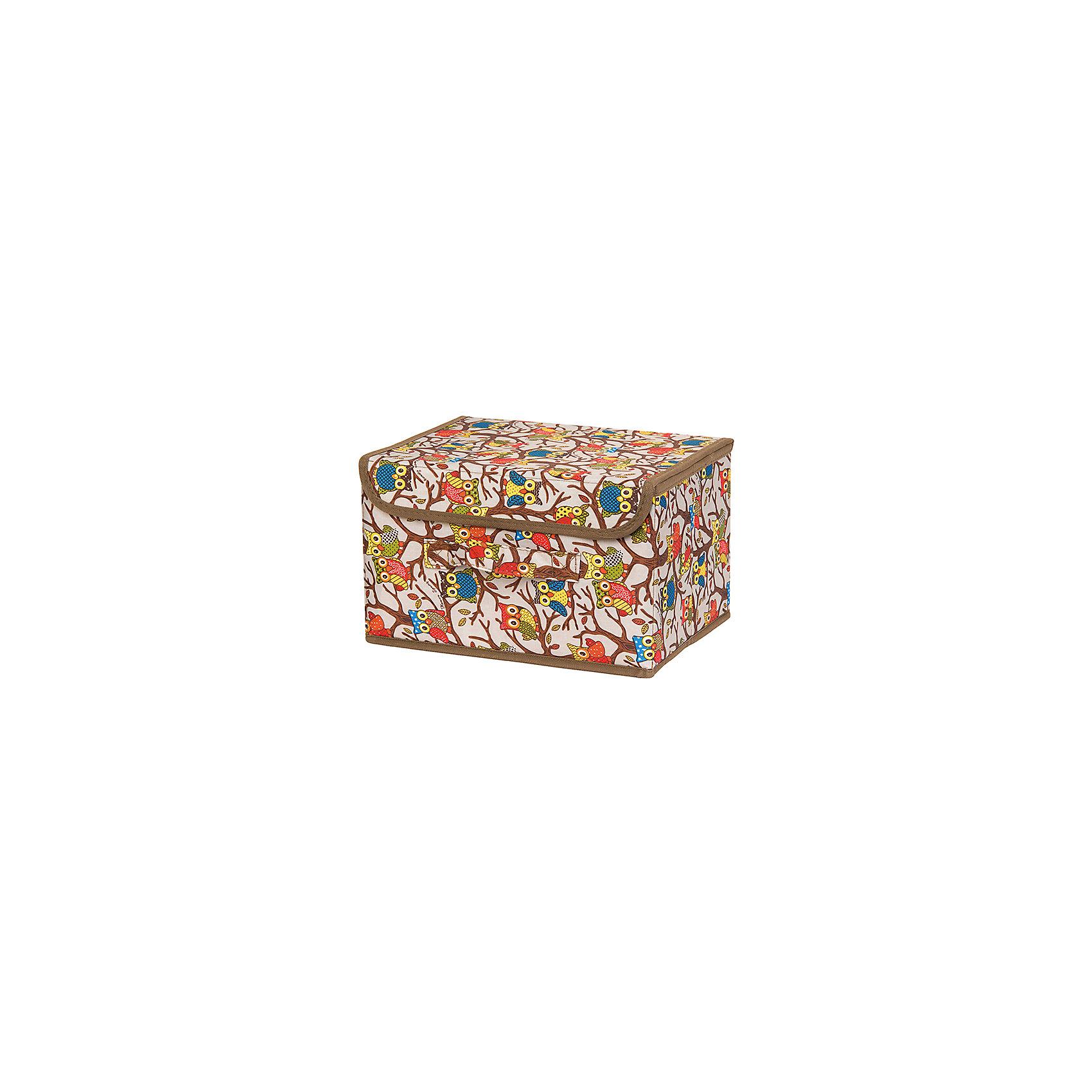 Кофр складной для хранения 26*20*16 см. Совы на ветках на серебре, EL CasaПорядок в детской<br>Характеристики товара:<br><br>• цвет: мульти<br>• материал: текстиль (полиэстер), картон<br>• размер: 26 х 20 х 16 см<br>• вес: 400 г<br>• декорирован принтом<br>• с жестким каркасом<br>• легко складывается и раскладывается<br>• удобный<br>• с крышкой и ручкой<br>• универсальный размер<br>• страна бренда: Российская Федерация<br>• страна производства: Китай<br><br>Такой кофр - отличный пример красивой и функциональной вещи для любого интерьера. В нем удобной хранить различные мелочи, благодаря универсальному дизайну и расцветке он хорошо будет смотреться в помещении.<br><br>Кофр с жёстким каркасом для хранения может стать отличным приобретением для дома или подарком для любителей красивых оригинальных вещей.<br><br>Бренд EL Casa - это красивые и практичные товары для дома с современным дизайном. Они добавляют в жильё уюта и комфорта! <br><br>Кофр складной для хранения 26*20*16 см. Совы на ветках на серебре, EL Casa можно купить в нашем интернет-магазине.<br><br>Ширина мм: 270<br>Глубина мм: 210<br>Высота мм: 27<br>Вес г: 400<br>Возраст от месяцев: 0<br>Возраст до месяцев: 1188<br>Пол: Унисекс<br>Возраст: Детский<br>SKU: 6668732