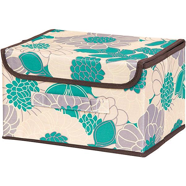 Кофр складной для хранения 26*20*16 см. Цветочное поле бирюза, EL CasaОрганайзеры для одежды<br>Характеристики товара:<br><br>• цвет: мульти<br>• материал: текстиль (полиэстер), картон<br>• размер: 26 х 20 х 16 см<br>• вес: 400 г<br>• декорирован принтом<br>• с жестким каркасом<br>• легко складывается и раскладывается<br>• удобный<br>• с крышкой и ручкой<br>• универсальный размер<br>• страна бренда: Российская Федерация<br>• страна производства: Китай<br><br>Такой кофр - отличный пример красивой и функциональной вещи для любого интерьера. В нем удобной хранить различные мелочи, благодаря универсальному дизайну и расцветке он хорошо будет смотреться в помещении.<br><br>Кофр с жёстким каркасом для хранения может стать отличным приобретением для дома или подарком для любителей красивых оригинальных вещей.<br><br>Бренд EL Casa - это красивые и практичные товары для дома с современным дизайном. Они добавляют в жильё уюта и комфорта! <br><br>Кофр складной для хранения 26*20*16 см. Цветочное поле бирюза, EL Casa можно купить в нашем интернет-магазине.<br><br>Ширина мм: 270<br>Глубина мм: 210<br>Высота мм: 27<br>Вес г: 400<br>Возраст от месяцев: 0<br>Возраст до месяцев: 1188<br>Пол: Унисекс<br>Возраст: Детский<br>SKU: 6668736