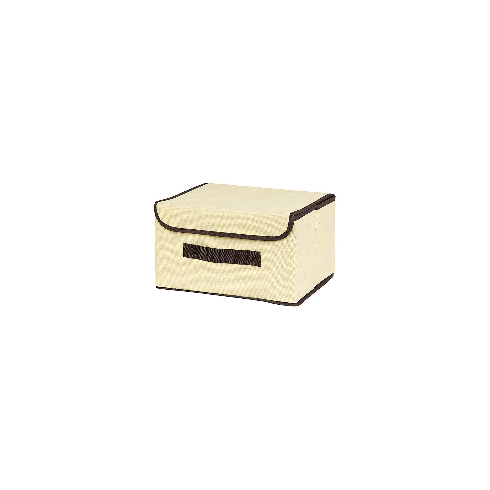 Кофр складной для хранения 26*20*16 см. Геометрия стиля, EL Casa, молочныйПорядок в детской<br>Характеристики товара:<br><br>• цвет: мульти<br>• материал: текстиль (полиэстер), картон<br>• размер: 26 х 20 х 16 см<br>• вес: 400 г<br>• декорирован принтом<br>• с жестким каркасом<br>• легко складывается и раскладывается<br>• удобный<br>• с крышкой и ручкой<br>• универсальный размер<br>• страна бренда: Российская Федерация<br>• страна производства: Китай<br><br>Такой кофр - отличный пример красивой и функциональной вещи для любого интерьера. В нем удобной хранить различные мелочи, благодаря универсальному дизайну и расцветке он хорошо будет смотреться в помещении.<br><br>Кофр с жёстким каркасом для хранения может стать отличным приобретением для дома или подарком для любителей красивых оригинальных вещей.<br><br>Бренд EL Casa - это красивые и практичные товары для дома с современным дизайном. Они добавляют в жильё уюта и комфорта! <br><br>Кофр складной для хранения 26*20*16 см. Геометрия стиля, EL Casa можно купить в нашем интернет-магазине.<br><br>Ширина мм: 270<br>Глубина мм: 210<br>Высота мм: 27<br>Вес г: 367<br>Возраст от месяцев: 0<br>Возраст до месяцев: 1188<br>Пол: Унисекс<br>Возраст: Детский<br>SKU: 6668738