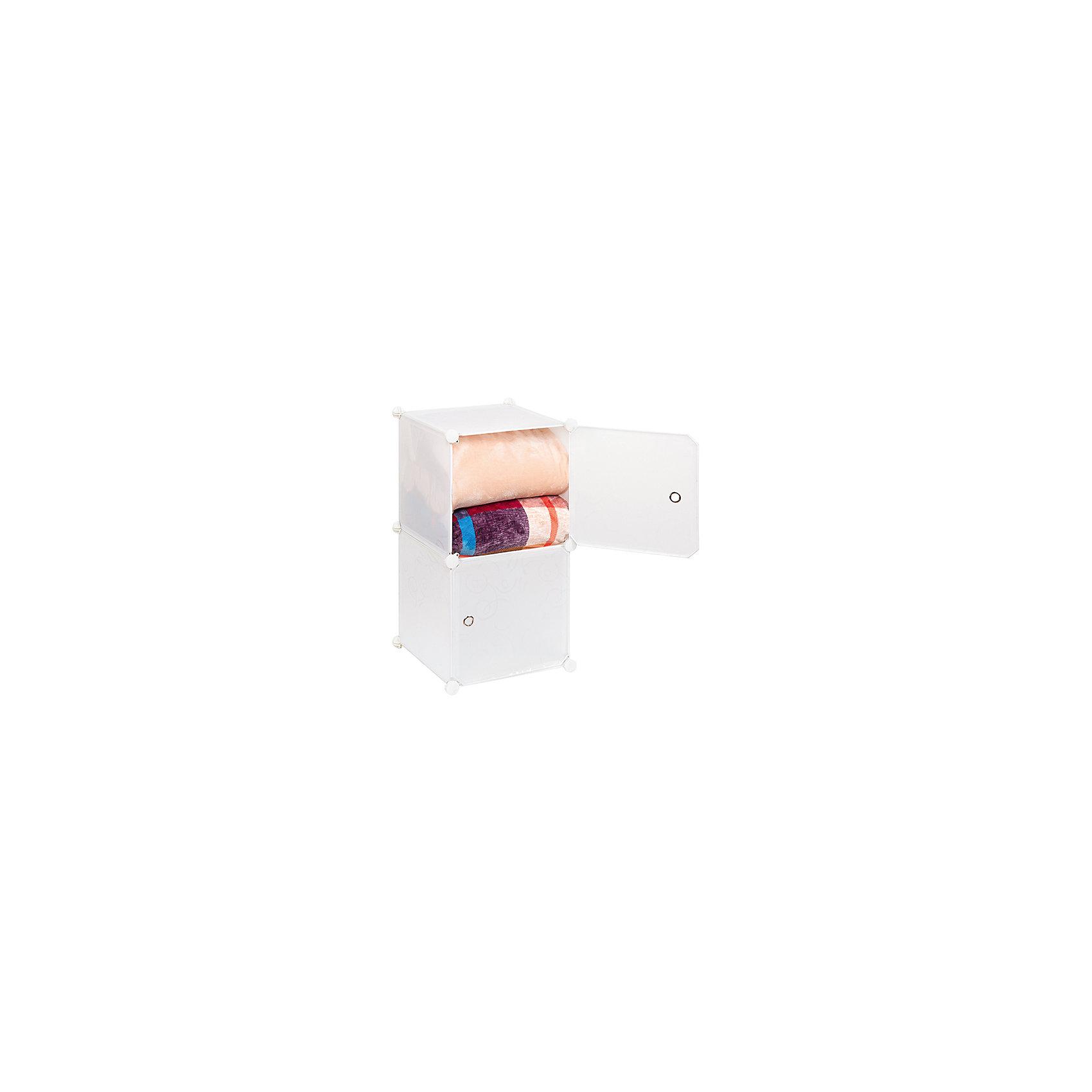 Полка складная для модульного системы хранения 37*39*74 см. Белая с узором, EL CasaПорядок в детской<br>Модульный стеллаж предназначен  для хранения одежды, мелочей и игрушек, легкий, вместительный, быстро собирается, не занимает много места,  имеет разные варианты сборки, комбинируется с другими полками  модульных систем бренда EL Casa. Полка состоит из сборного металлического каркаса, на который натянуты панели из полипропилена. Дверца на магните, ручка в виде отверстия. <br>Компактный стеллаж  будет полезен и дома, и на даче,  расцветка позволит стеллажу вписаться в любой интерьер.<br><br>Ширина мм: 420<br>Глубина мм: 370<br>Высота мм: 52<br>Вес г: 2000<br>Возраст от месяцев: 0<br>Возраст до месяцев: 1188<br>Пол: Унисекс<br>Возраст: Детский<br>SKU: 6668792