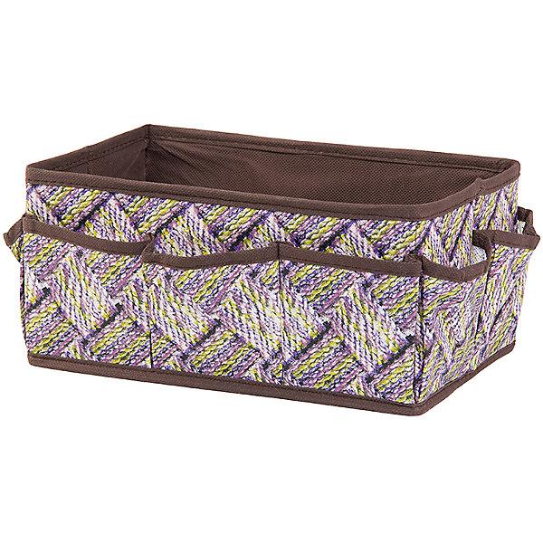 Органайзер для косметики/мелочей 25*15*12 см. Плетенка, с 7 карманами, EL CasaДетские предметы интерьера<br>Характеристики товара:<br><br>• цвет: мульти<br>• материал: текстиль (полиэстер 100%)<br>• размер: 25 х 15 х 12 см<br>• вес: 200 г<br>• декорирован принтом<br>• легко складывается и раскладывается<br>• удобный<br>• 7 карманов<br>• легкий<br>• универсальный размер<br>• страна бренда: Российская Федерация<br>• страна производства: Китай<br><br>Такой органайзер - отличный пример красивой и функциональной вещи для любого интерьера. В нем удобной хранить различные мелочи, благодаря универсальному дизайну и расцветке он хорошо будет смотреться в помещении.<br><br>Органайзер для хранения может стать отличным приобретением для дома или подарком для любителей красивых оригинальных вещей.<br><br>Бренд EL Casa - это красивые и практичные товары для дома с современным дизайном. Они добавляют в жильё уюта и комфорта! <br><br>Органайзер для косметики/мелочей 25*15*12 см. Плетенка, с 7 карманами, EL Casa можно купить в нашем интернет-магазине.<br><br>Ширина мм: 255<br>Глубина мм: 150<br>Высота мм: 20<br>Вес г: 183<br>Возраст от месяцев: 0<br>Возраст до месяцев: 1188<br>Пол: Унисекс<br>Возраст: Детский<br>SKU: 6668801