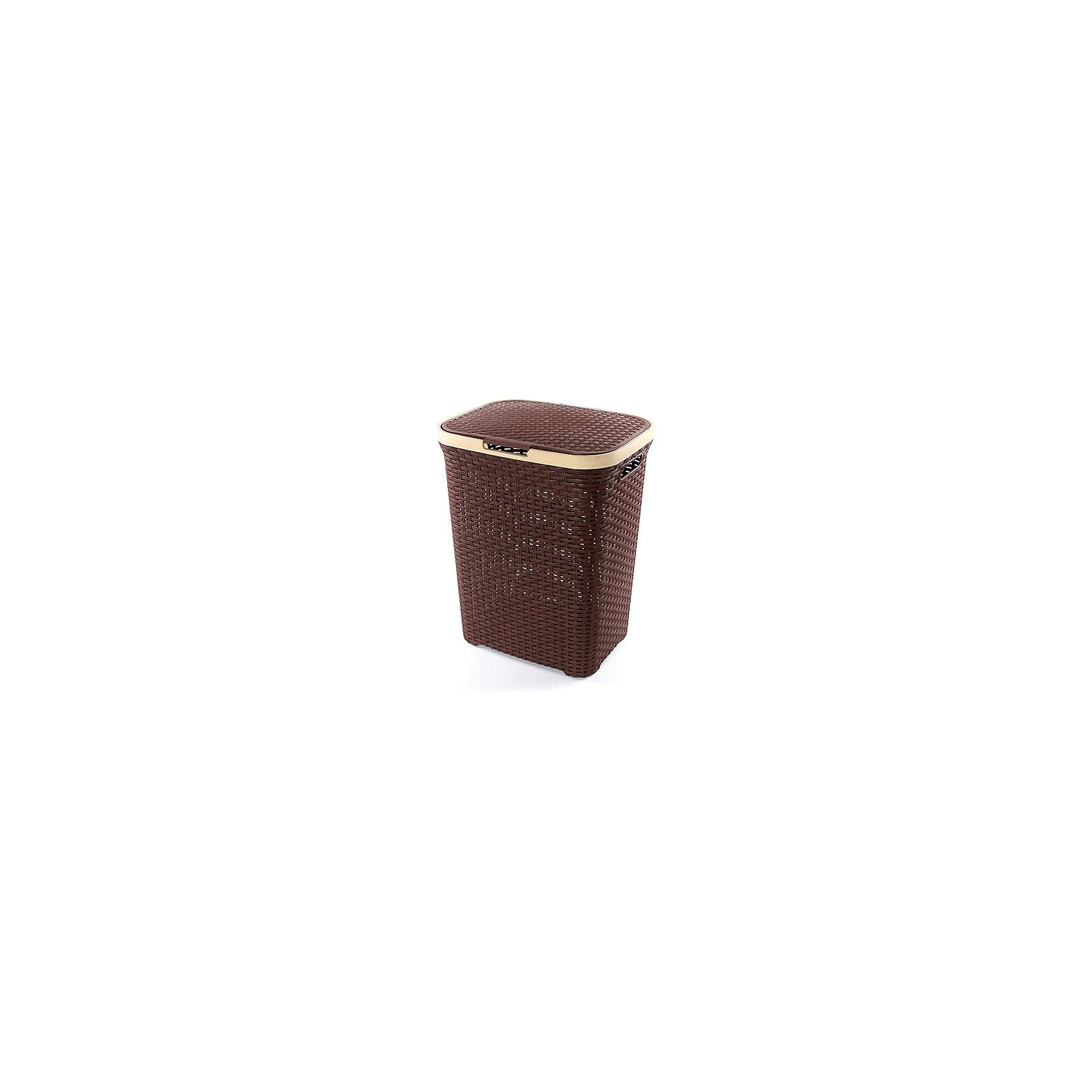 Корзина для белья 60 л.44*35*56 см. с крышкой Ротанг, Violet, коричневыйВанная комната<br>Корзина для белья 60 л.44*35*56 см. с крышкой Ротанг (коричневая), Violet Корзина для хранения - незаменимая вещь для эргономичного хранения самого необходимого. Отличное решение для организации жилого пространства.<br><br>Ширина мм: 440<br>Глубина мм: 350<br>Высота мм: 560<br>Вес г: 1620<br>Возраст от месяцев: 0<br>Возраст до месяцев: 1188<br>Пол: Унисекс<br>Возраст: Детский<br>SKU: 6668840
