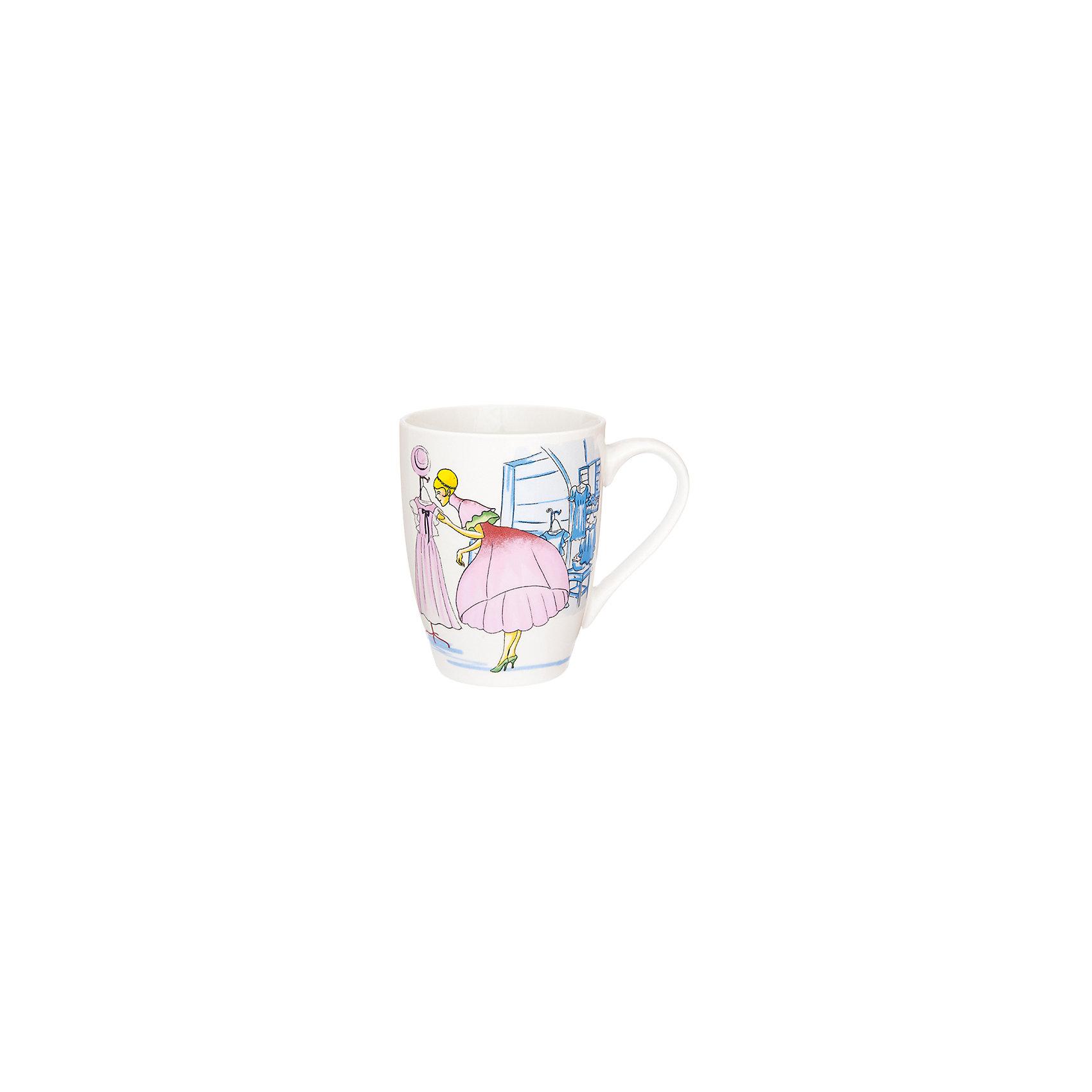 Кружка 370 мл Модница розовая, Elan GalleryПосуда<br>Кружка 370 мл  Elan Gallery 11,5*8*10 см. Модница розовая, Elan Gallery Кружка классической формы объемом 370 мл с удобной ручкой. Подходят для любых горячих и холодных напитков, чая, кофе, какао. Изделие имеет подарочную упаковку, поэтому станет желанным подарком для Ваших близких! Не рекомендуется применять абразивные моющие средства.<br><br>Ширина мм: 103<br>Глубина мм: 86<br>Высота мм: 107<br>Вес г: 267<br>Возраст от месяцев: 0<br>Возраст до месяцев: 1188<br>Пол: Унисекс<br>Возраст: Детский<br>SKU: 6668862