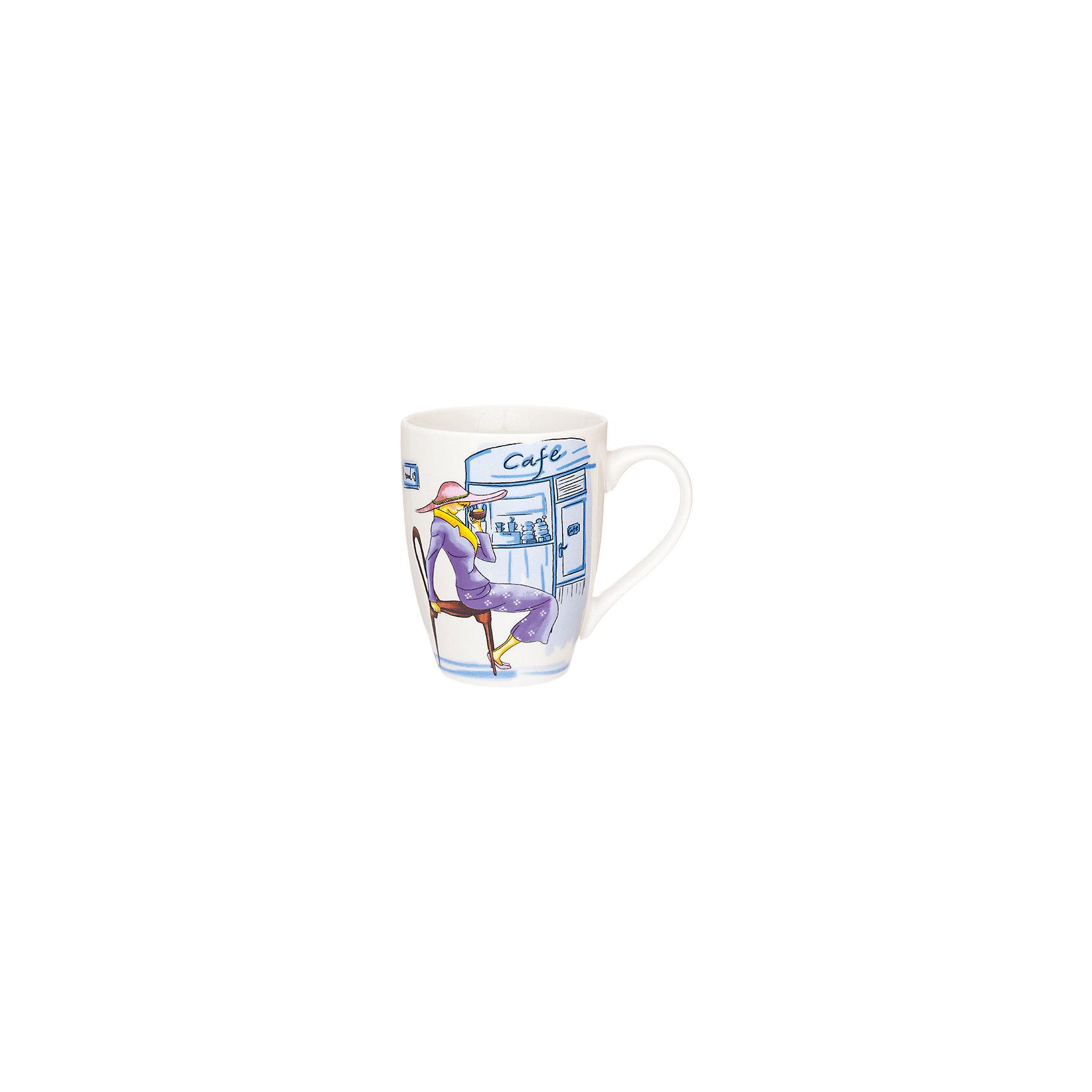 Кружка 370 мл Модница фиолетовая, Elan GalleryПосуда<br>Кружка 370 мл  Elan Gallery 11,5*8*10 см. Модница фиолетовая, Elan Gallery Кружка классической формы объемом 370 мл с удобной ручкой. Подходят для любых горячих и холодных напитков, чая, кофе, какао. Изделие имеет подарочную упаковку, поэтому станет желанным подарком для Ваших близких! Не рекомендуется применять абразивные моющие средства.<br><br>Ширина мм: 103<br>Глубина мм: 86<br>Высота мм: 107<br>Вес г: 267<br>Возраст от месяцев: 0<br>Возраст до месяцев: 1188<br>Пол: Унисекс<br>Возраст: Детский<br>SKU: 6668863