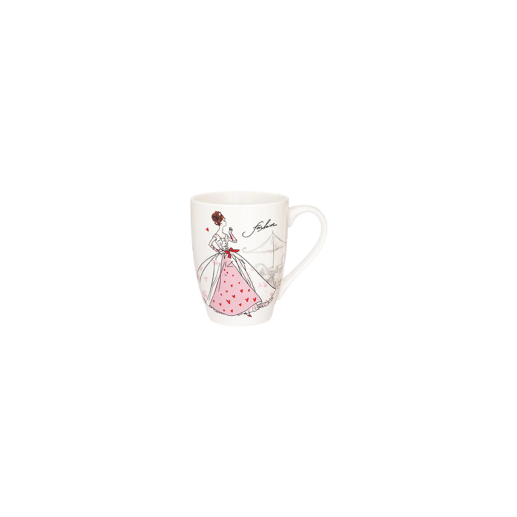 Кружка 370 мл Мода ретро розовая, Elan GalleryПосуда<br>Кружка 370 мл  Elan Gallery 11,5*8*10 см. Мода ретро розовая, Elan Gallery Кружка классической формы объемом 370 мл с удобной ручкой. Подходят для любых горячих и холодных напитков, чая, кофе, какао. Изделие имеет подарочную упаковку, поэтому станет желанным подарком для Ваших близких! Не рекомендуется применять абразивные моющие средства.<br><br>Ширина мм: 103<br>Глубина мм: 86<br>Высота мм: 107<br>Вес г: 267<br>Возраст от месяцев: 0<br>Возраст до месяцев: 1188<br>Пол: Унисекс<br>Возраст: Детский<br>SKU: 6668867