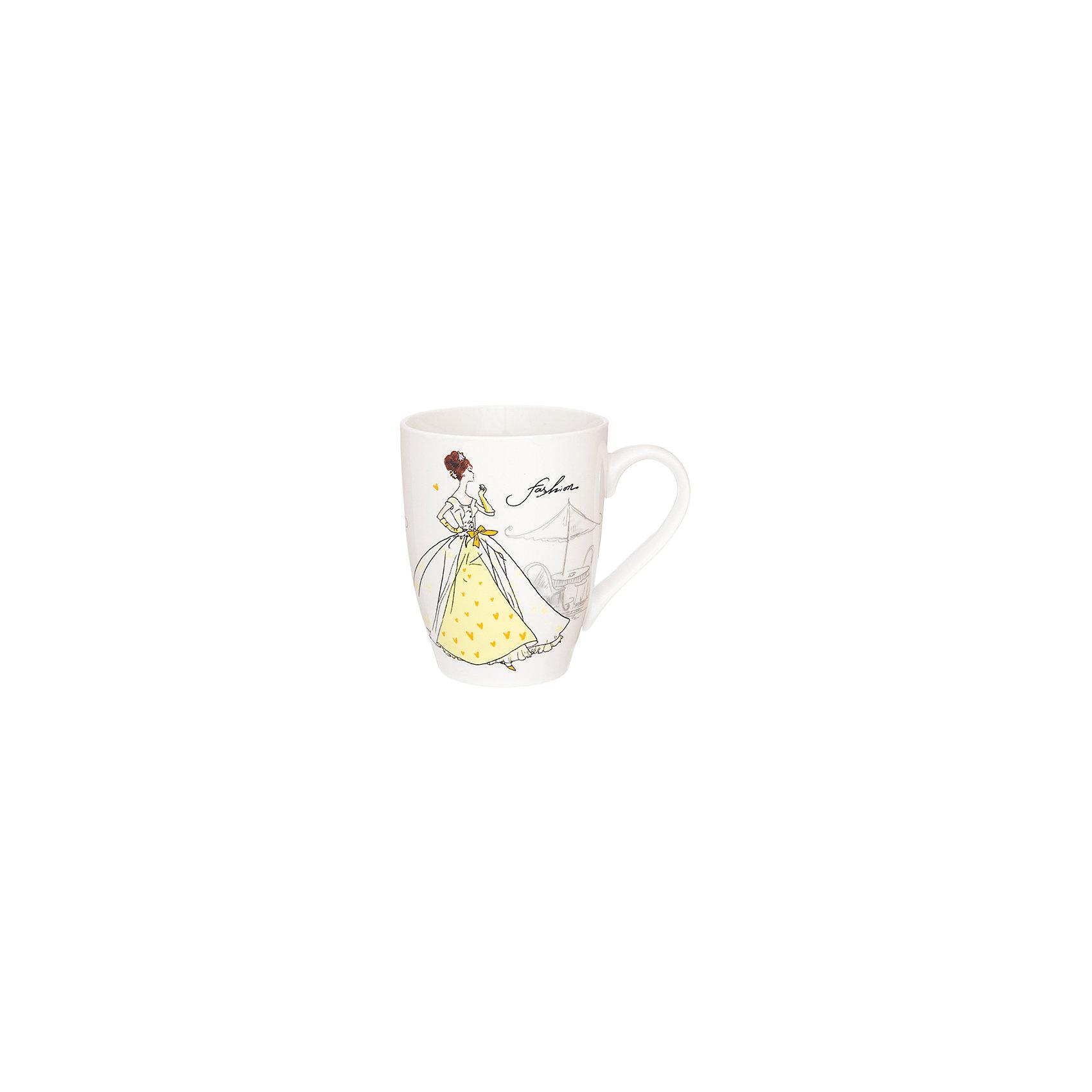 Кружка 370 мл Мода ретро желтая, Elan GalleryПосуда<br>Кружка 370 мл  Elan Gallery 11,5*8*10 см. Мода ретро желтая, Elan Gallery Кружка классической формы объемом 370 мл с удобной ручкой. Подходят для любых горячих и холодных напитков, чая, кофе, какао. Изделие имеет подарочную упаковку, поэтому станет желанным подарком для Ваших близких! Не рекомендуется применять абразивные моющие средства.<br><br>Ширина мм: 103<br>Глубина мм: 86<br>Высота мм: 107<br>Вес г: 267<br>Возраст от месяцев: 0<br>Возраст до месяцев: 1188<br>Пол: Унисекс<br>Возраст: Детский<br>SKU: 6668868