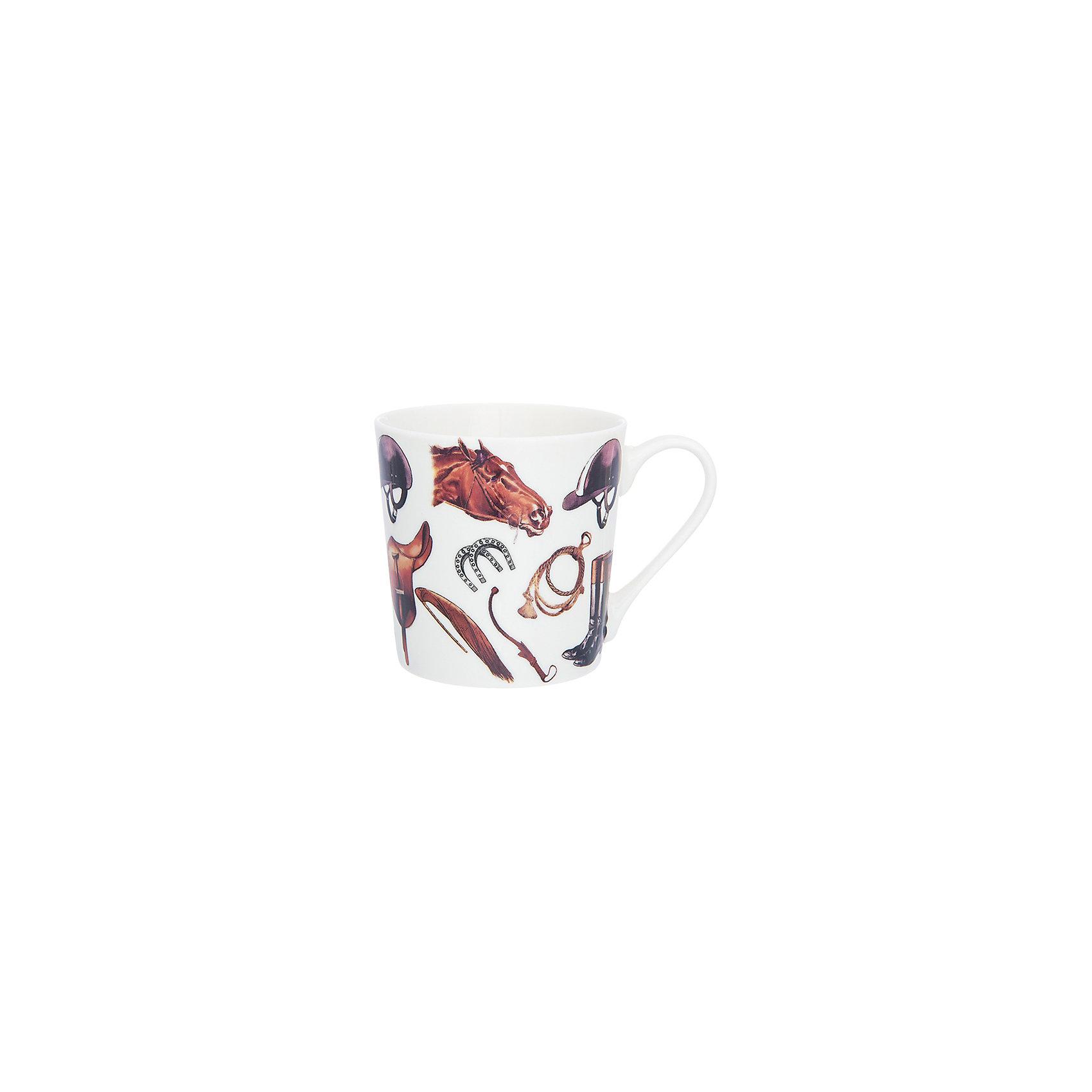 Кружка 400 мл Верховая езда, Elan GalleryПосуда<br>Кружка 400 мл  Elan Gallery 12,5*9*9 см. Верховая езда, Elan Gallery Кружка классической формы объемом 400 мл с удобной ручкой. Подходят для любых горячих и холодных напитков, чая, кофе, какао. Изделие имеет подарочную упаковку, поэтому станет желанным подарком для Ваших близких! Не рекомендуется применять абразивные моющие средства.<br><br>Ширина мм: 122<br>Глубина мм: 100<br>Высота мм: 100<br>Вес г: 311<br>Возраст от месяцев: 0<br>Возраст до месяцев: 1188<br>Пол: Унисекс<br>Возраст: Детский<br>SKU: 6668873