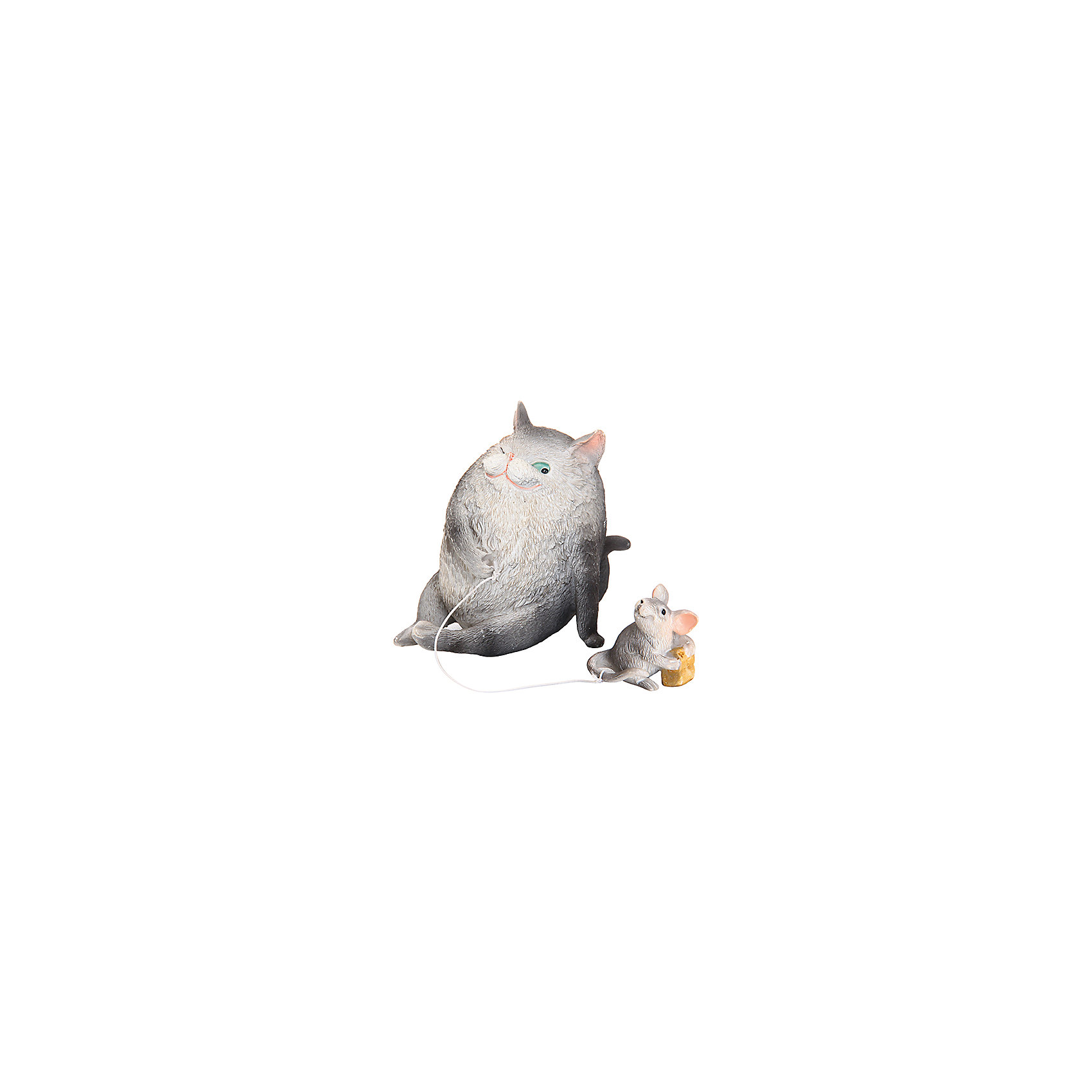 Фигурка декоративная Кошки-мышки, Elan GalleryПредметы интерьера<br>Фигурка декоративная  Elan Gallery 6*8*8 см. Кошки-мышки, Elan Gallery Декоративные фигурки - это отличный способ разнообразить внутреннее убранство вашего дома. Размер  6х8х8 см.<br><br>Ширина мм: 113<br>Глубина мм: 93<br>Высота мм: 108<br>Вес г: 278<br>Возраст от месяцев: 0<br>Возраст до месяцев: 1188<br>Пол: Унисекс<br>Возраст: Детский<br>SKU: 6668984