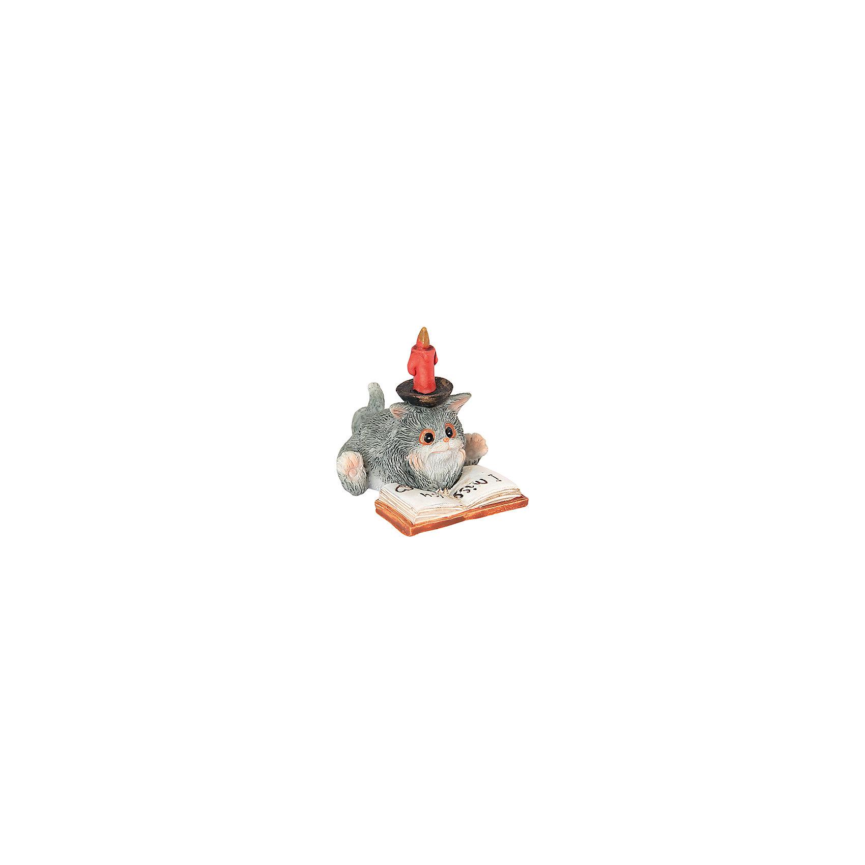 Фигурка декоративная Кот с книгой, Elan GalleryПредметы интерьера<br>Характеристики товара:<br><br>• цвет: мульти<br>• материал: полистоун<br>• высота: 5 см<br>• вес: 100 г<br>• подходит к любому интерьеру<br>• отлично проработаны детали<br>• универсальный размер<br>• страна бренда: Российская Федерация<br>• страна производства: Китай<br><br>Такая декоративная фигурка - отличный пример красивой вещи для любого интерьера. Благодаря универсальному дизайну и расцветке она хорошо будет смотреться в помещении.<br><br>Декоративная фигурка может стать отличным приобретением для дома или подарком для любителей симпатичных вещей, украшающих пространство.<br><br>Бренд Elan Gallery - это красивые и практичные товары для дома с современным дизайном. Они добавляют в жильё уюта и комфорта! <br><br>Фигурку декоративную Кот с книгой Elan Gallery можно купить в нашем интернет-магазине.<br><br>Ширина мм: 85<br>Глубина мм: 75<br>Высота мм: 75<br>Вес г: 69<br>Возраст от месяцев: 0<br>Возраст до месяцев: 1188<br>Пол: Унисекс<br>Возраст: Детский<br>SKU: 6669009