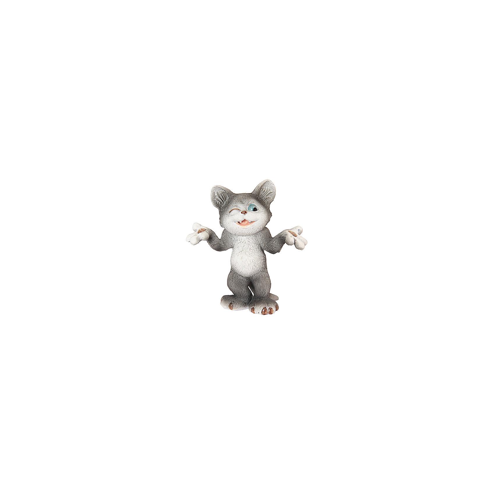 Фигурка декоративная Хитрый кот, Elan GalleryПредметы интерьера<br>Фигурка декоративная  Elan Gallery 8*3*9 см. Хитрый кот, Elan Gallery Декоративные фигурки - это отличный способ разнообразить внутреннее убранство вашего дома. Размер 8х3х9 см.<br><br>Ширина мм: 95<br>Глубина мм: 45<br>Высота мм: 86<br>Вес г: 139<br>Возраст от месяцев: 0<br>Возраст до месяцев: 1188<br>Пол: Унисекс<br>Возраст: Детский<br>SKU: 6669014