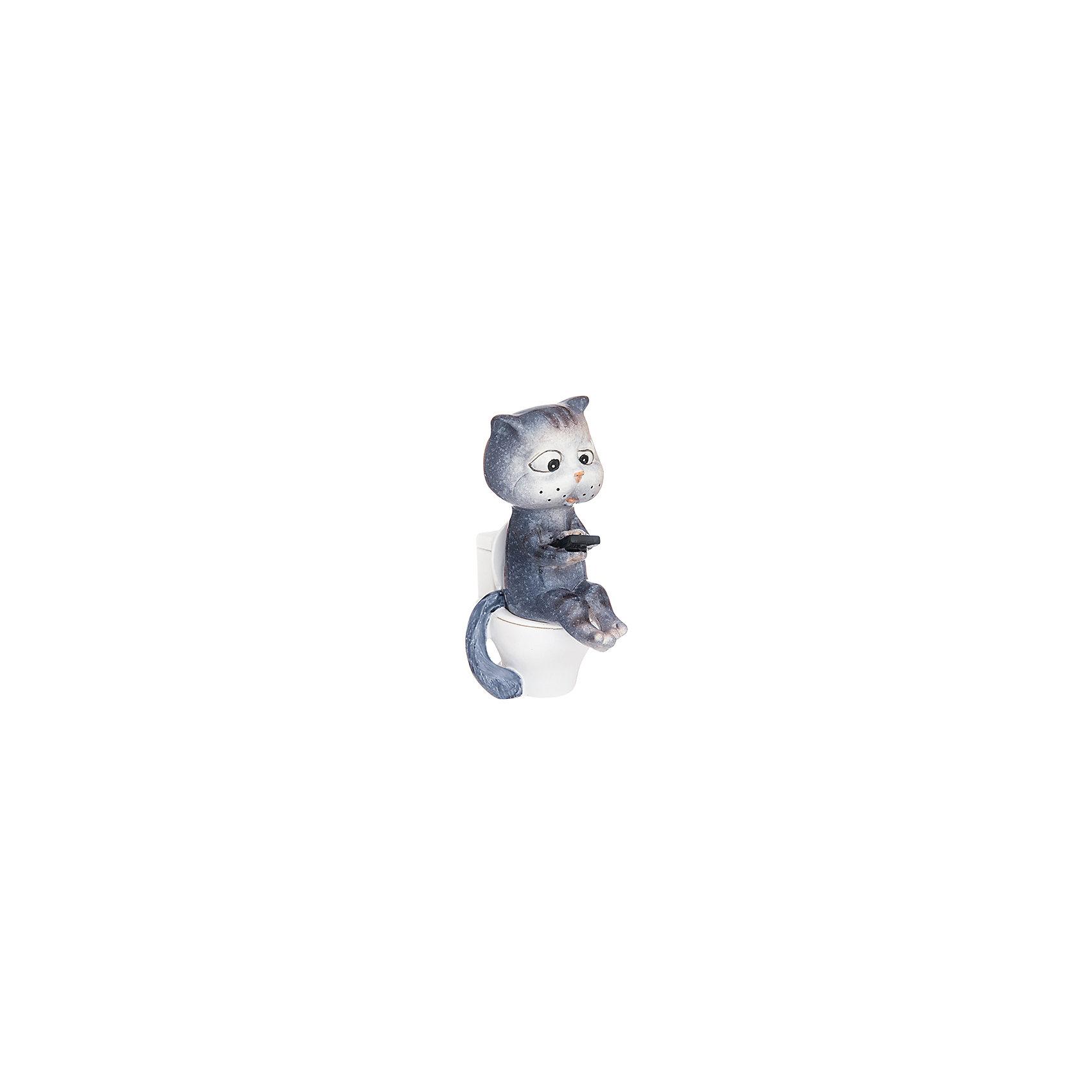 Фигурка декоративная Котик с телефоном, Elan GalleryПредметы интерьера<br>Фигурка декоративная  Elan Gallery 8,5*5,5*12 см. Котик с телефоном, Elan Gallery Декоративные фигурки - это отличный способ разнообразить внутреннее убранство дома, частичка вашей индивидуальности в облике жилища!<br><br>Ширина мм: 95<br>Глубина мм: 63<br>Высота мм: 138<br>Вес г: 244<br>Возраст от месяцев: 0<br>Возраст до месяцев: 1188<br>Пол: Унисекс<br>Возраст: Детский<br>SKU: 6669022
