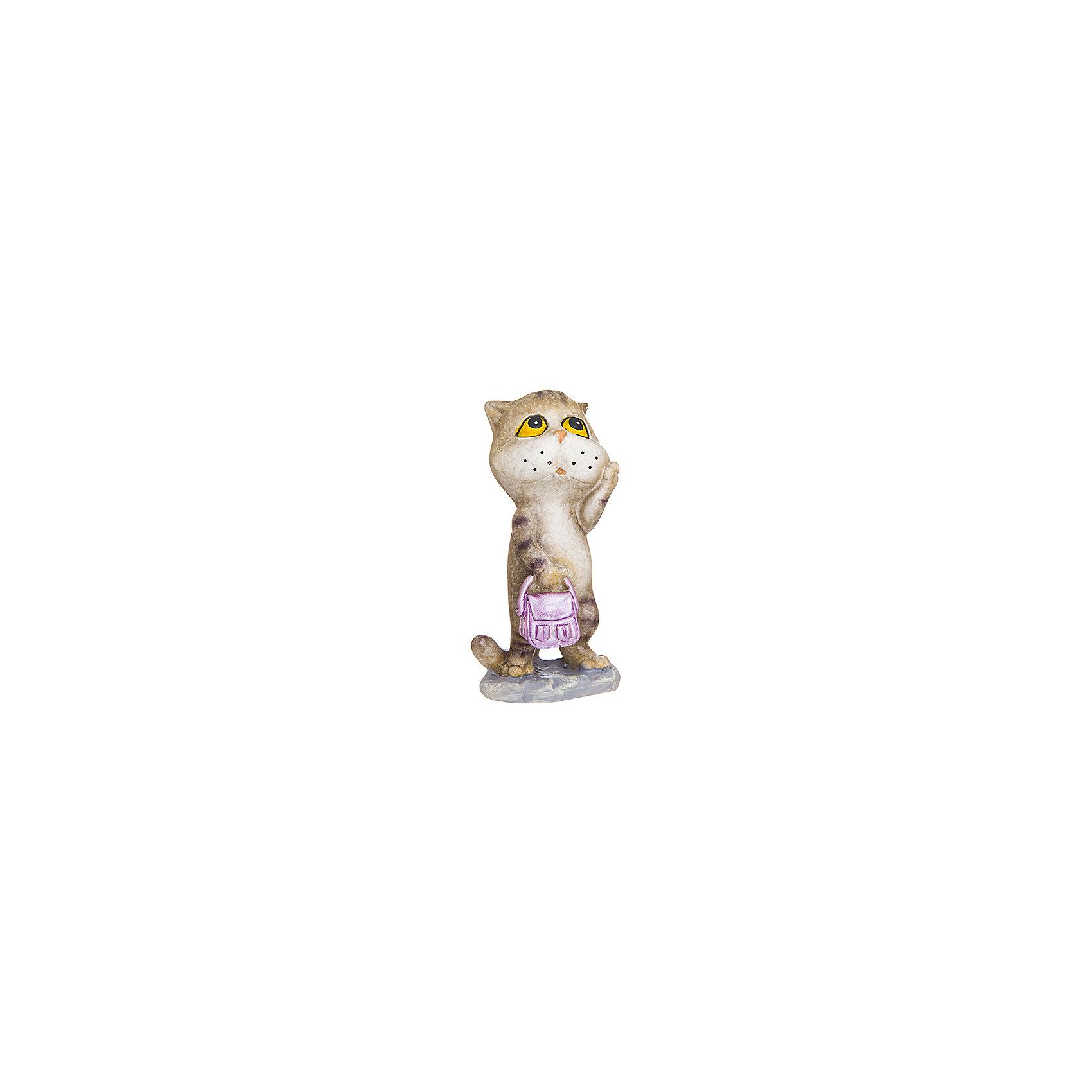 Фигурка декоративная Кошка - модница, Elan GalleryПредметы интерьера<br>Характеристики товара:<br><br>• цвет: мульти<br>• материал: полистоун<br>• высота: 10 см<br>• вес: 150 г<br>• подходит к любому интерьеру<br>• отлично проработаны детали<br>• универсальный размер<br>• страна бренда: Российская Федерация<br>• страна производства: Китай<br><br>Такая декоративная фигурка - отличный пример красивой вещи для любого интерьера. Благодаря универсальному дизайну и расцветке она хорошо будет смотреться в помещении.<br><br>Декоративная фигурка может стать отличным приобретением для дома или подарком для любителей симпатичных вещей, украшающих пространство.<br><br>Бренд Elan Gallery - это красивые и практичные товары для дома с современным дизайном. Они добавляют в жильё уюта и комфорта! <br><br>Фигурку декоративную Кошка - модница Elan Gallery можно купить в нашем интернет-магазине.<br><br>Ширина мм: 65<br>Глубина мм: 55<br>Высота мм: 115<br>Вес г: 133<br>Возраст от месяцев: 0<br>Возраст до месяцев: 1188<br>Пол: Унисекс<br>Возраст: Детский<br>SKU: 6669032