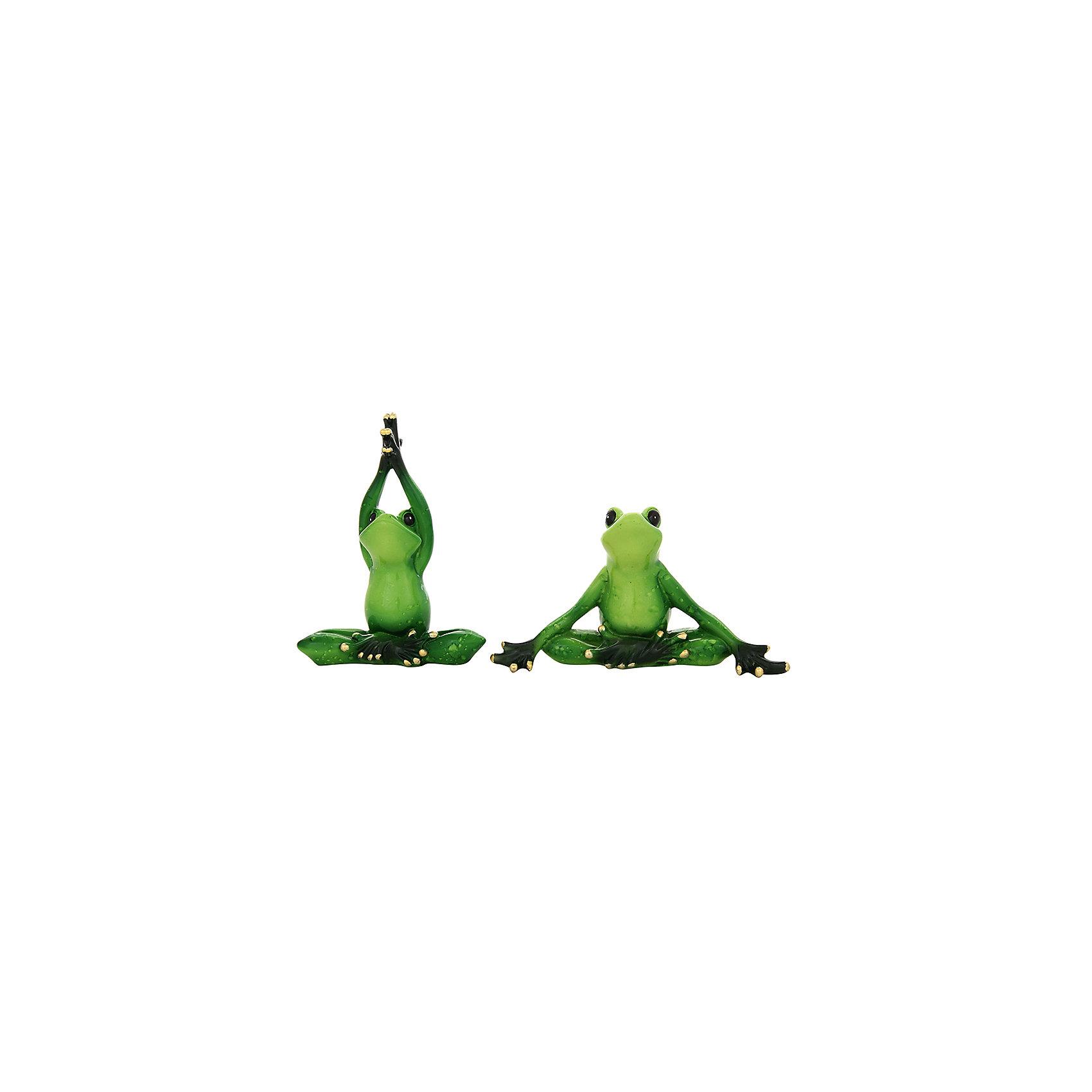 Фигурка декоративная 2 пр. Лягушки йоги, Elan GalleryПредметы интерьера<br>Характеристики товара:<br><br>• цвет: мульти<br>• материал: полистоун<br>• высота: 12 см<br>• вес: 350 г<br>• комплектация: 2 предмета<br>• подходит к любому интерьеру<br>• отлично проработаны детали<br>• универсальный размер<br>• страна бренда: Российская Федерация<br>• страна производства: Китай<br><br>Такая декоративная фигурка - отличный пример красивой вещи для любого интерьера. Благодаря универсальному дизайну и расцветке она хорошо будет смотреться в помещении.<br><br>Декоративная фигурка может стать отличным приобретением для дома или подарком для любителей симпатичных вещей, украшающих пространство.<br><br>Бренд Elan Gallery - это красивые и практичные товары для дома с современным дизайном. Они добавляют в жильё уюта и комфорта! <br><br>Фигурку декоративную 2 пр. Лягушки-йоги Elan Gallery можно купить в нашем интернет-магазине.<br><br>Ширина мм: 198<br>Глубина мм: 93<br>Высота мм: 199<br>Вес г: 348<br>Возраст от месяцев: 0<br>Возраст до месяцев: 1188<br>Пол: Унисекс<br>Возраст: Детский<br>SKU: 6669037