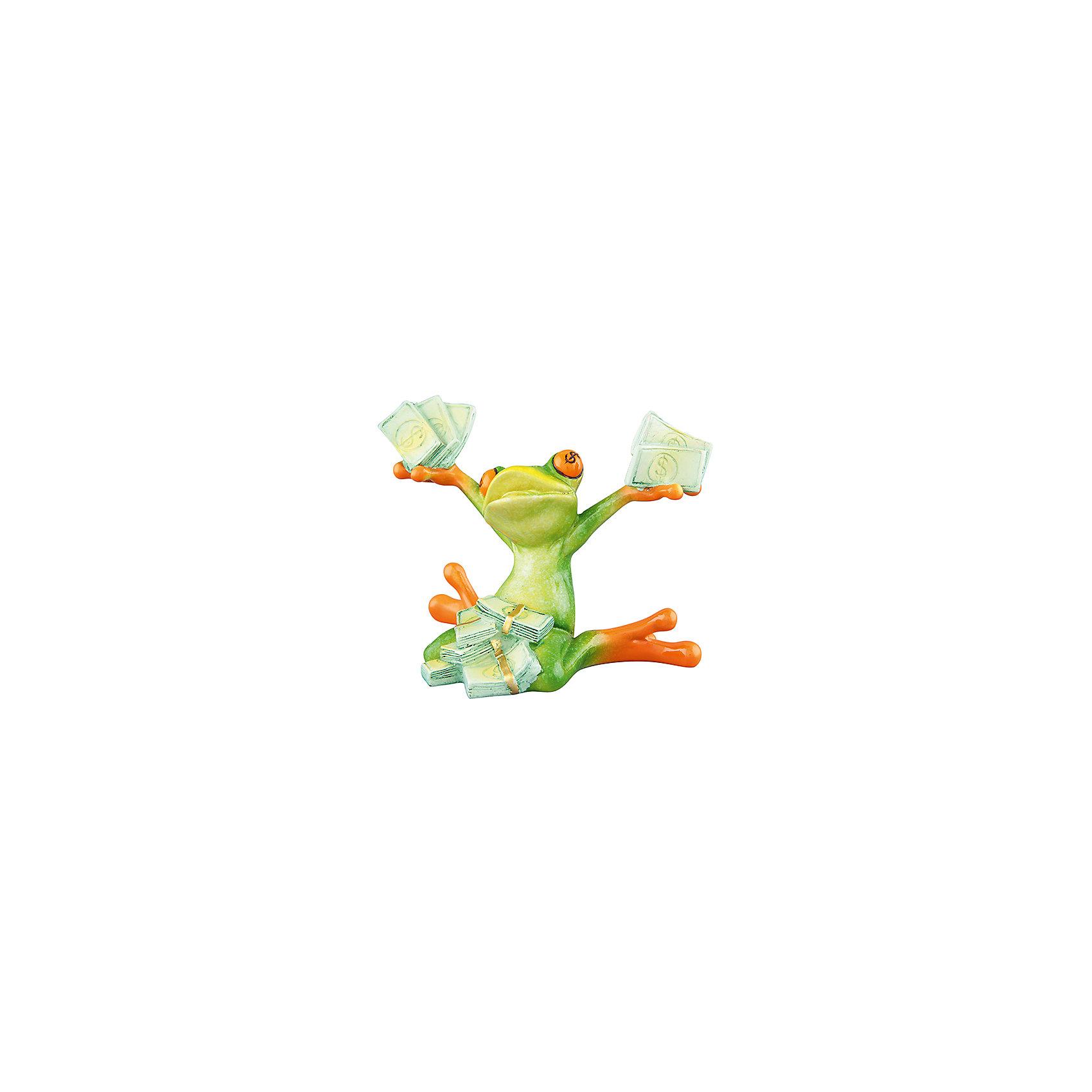 Фигурка декоративная Денежная лягушка к прибыли, Elan GalleryПредметы интерьера<br>Характеристики товара:<br><br>• цвет: мульти<br>• материал: полистоун<br>• высота: 10 см<br>• вес: 250 г<br>• подходит к любому интерьеру<br>• отлично проработаны детали<br>• универсальный размер<br>• страна бренда: Российская Федерация<br>• страна производства: Китай<br><br>Такая декоративная фигурка - отличный пример красивой вещи для любого интерьера. Благодаря универсальному дизайну и расцветке она хорошо будет смотреться в помещении.<br><br>Декоративная фигурка может стать отличным приобретением для дома или подарком для любителей симпатичных вещей, украшающих пространство.<br><br>Бренд Elan Gallery - это красивые и практичные товары для дома с современным дизайном. Они добавляют в жильё уюта и комфорта! <br><br>Фигурку декоративную Денежная лягушка к прибыли Elan Gallery можно купить в нашем интернет-магазине.<br><br>Ширина мм: 158<br>Глубина мм: 123<br>Высота мм: 129<br>Вес г: 244<br>Возраст от месяцев: 0<br>Возраст до месяцев: 1188<br>Пол: Унисекс<br>Возраст: Детский<br>SKU: 6669046