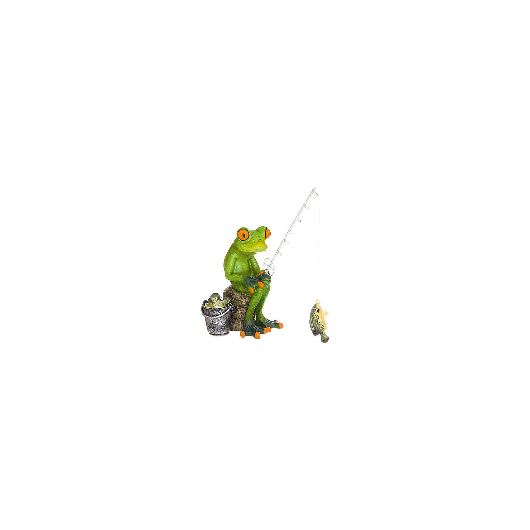 Фигурка декоративная Лягушонок - рыбак, Elan GalleryПредметы интерьера<br>Характеристики товара:<br><br>• цвет: мульти<br>• материал: полистоун<br>• высота: 17 см<br>• вес: 350 г<br>• подходит к любому интерьеру<br>• отлично проработаны детали<br>• универсальный размер<br>• страна бренда: Российская Федерация<br>• страна производства: Китай<br><br>Такая декоративная фигурка - отличный пример красивой вещи для любого интерьера. Благодаря универсальному дизайну и расцветке она хорошо будет смотреться в помещении.<br><br>Декоративная фигурка может стать отличным приобретением для дома или подарком для любителей симпатичных вещей, украшающих пространство.<br><br>Бренд Elan Gallery - это красивые и практичные товары для дома с современным дизайном. Они добавляют в жильё уюта и комфорта! <br><br>Фигурку декоративную Лягушонок - рыбак Elan Gallery можно купить в нашем интернет-магазине.<br><br>Ширина мм: 168<br>Глубина мм: 113<br>Высота мм: 234<br>Вес г: 365<br>Возраст от месяцев: 0<br>Возраст до месяцев: 1188<br>Пол: Унисекс<br>Возраст: Детский<br>SKU: 6669053