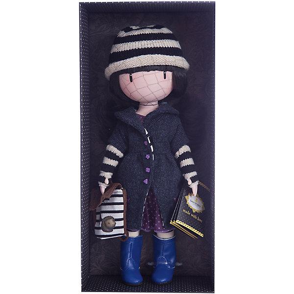 Кукла Горджусс Поганка, 32 см, Paola ReinaКуклы<br>Кукла Горджусс Поганка, 32 см, Paola Reina.<br><br>Характеристики:<br><br>• Для детей в возрасте: от 3 лет<br>• В комплекте: кукла, рюкзак, брошюра<br>• Высота куклы: 32 см.<br>• Материалы: кукла изготовлена из винила; глаза выполнены в виде кристалла из твердого пластика; волосы сделаны из высококачественного нейлона; наряд выполнен из качественного текстиля<br>• Упаковка: подарочная картонная коробка с окошком<br><br>Кукла Горджусс Поганка - это уникальная кукла, созданная по образу, который придумала известная художница из Шотландии – Сюзанн Вулкон. Кукла станет любимой подружкой для каждой девочки, а также желанным экспонатом для коллекционера. <br><br>Кукла одета в лиловое платье и темно-синее пальто с изящными пуговичками. На ногах - яркие сапожки и белые колготки, на голове полосатая шапочка. Образ куклы дополнен коричневым рюкзачком с изображением ежа. Наряд куклы при необходимости можно снять. Длинные темные волосы куклы из высококачественного нейлона блестят, легко расчесываются. <br><br>На лице куклы только глаза и лёгкий румянец — так ей проще стать отражением настроения ребёнка. Ведь этот образ уже сам по себе иллюстрация эмоций. Подобный стиль открывает простор для фантазии — нос, рот и брови можно додумать самостоятельно! <br><br>Кукла имеет пропорциональное телосложение. Голова, руки и ноги подвижны. Тело куклы выполнено из приятного на ощупь высококачественного винила, который имеет лёгкий аромат «английского сада» с нотками жимолости и розы.<br><br>Материалы, из которых изготовлена кукла, прошли все необходимые проверки на безопасность для детей. Качество подтверждено нормами безопасности EN17 ЕЭС. Дополнительно в комплекте с куклой предусмотрена информационная иллюстрированная брошюра.<br><br>Куклу Горджусс Поганка, 32 см, Paola Reina можно купить в нашем интернет-магазине.<br><br>Ширина мм: 375<br>Глубина мм: 175<br>Высота мм: 105<br>Вес г: 820<br>Возраст от месяцев: 36<br>Возраст до месяцев: 144