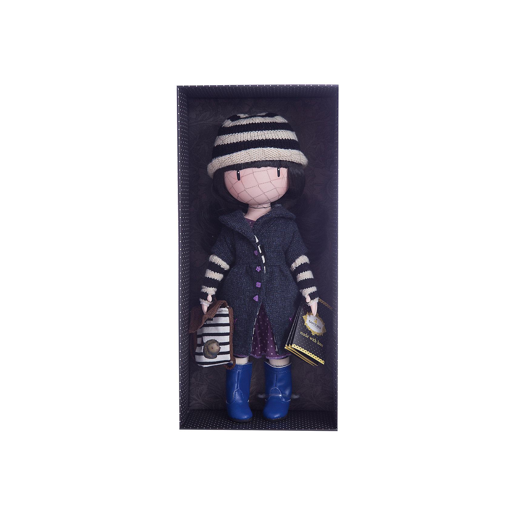 Кукла Горджусс Поганка, 32 см, Paola ReinaКлассические куклы<br>Кукла Горджусс Поганка, 32 см, Paola Reina.<br><br>Характеристики:<br><br>• Для детей в возрасте: от 3 лет<br>• В комплекте: кукла, рюкзак, брошюра<br>• Высота куклы: 32 см.<br>• Материалы: кукла изготовлена из винила; глаза выполнены в виде кристалла из твердого пластика; волосы сделаны из высококачественного нейлона; наряд выполнен из качественного текстиля<br>• Упаковка: подарочная картонная коробка с окошком<br><br>Кукла Горджусс Поганка - это уникальная кукла, созданная по образу, который придумала известная художница из Шотландии – Сюзанн Вулкон. Кукла станет любимой подружкой для каждой девочки, а также желанным экспонатом для коллекционера. <br><br>Кукла одета в лиловое платье и темно-синее пальто с изящными пуговичками. На ногах - яркие сапожки и белые колготки, на голове полосатая шапочка. Образ куклы дополнен коричневым рюкзачком с изображением ежа. Наряд куклы при необходимости можно снять. Длинные темные волосы куклы из высококачественного нейлона блестят, легко расчесываются. <br><br>На лице куклы только глаза и лёгкий румянец — так ей проще стать отражением настроения ребёнка. Ведь этот образ уже сам по себе иллюстрация эмоций. Подобный стиль открывает простор для фантазии — нос, рот и брови можно додумать самостоятельно! <br><br>Кукла имеет пропорциональное телосложение. Голова, руки и ноги подвижны. Тело куклы выполнено из приятного на ощупь высококачественного винила, который имеет лёгкий аромат «английского сада» с нотками жимолости и розы.<br><br>Материалы, из которых изготовлена кукла, прошли все необходимые проверки на безопасность для детей. Качество подтверждено нормами безопасности EN17 ЕЭС. Дополнительно в комплекте с куклой предусмотрена информационная иллюстрированная брошюра.<br><br>Куклу Горджусс Поганка, 32 см, Paola Reina можно купить в нашем интернет-магазине.<br><br>Ширина мм: 375<br>Глубина мм: 175<br>Высота мм: 105<br>Вес г: 820<br>Возраст от месяцев: 36<br>Возраст до
