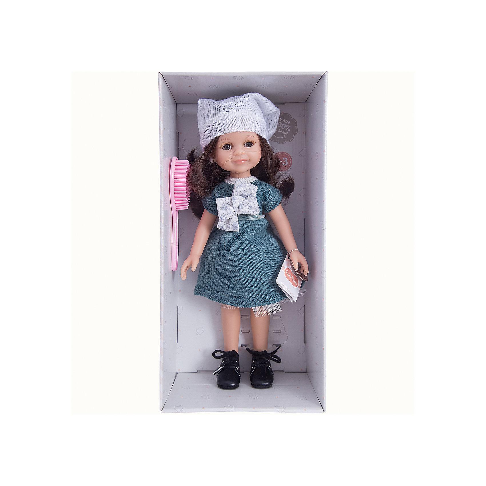 Кукла Клео, 32 см, Paola ReinaКлассические куклы<br><br><br>Ширина мм: 375<br>Глубина мм: 175<br>Высота мм: 105<br>Вес г: 625<br>Возраст от месяцев: 36<br>Возраст до месяцев: 144<br>Пол: Женский<br>Возраст: Детский<br>SKU: 6671053
