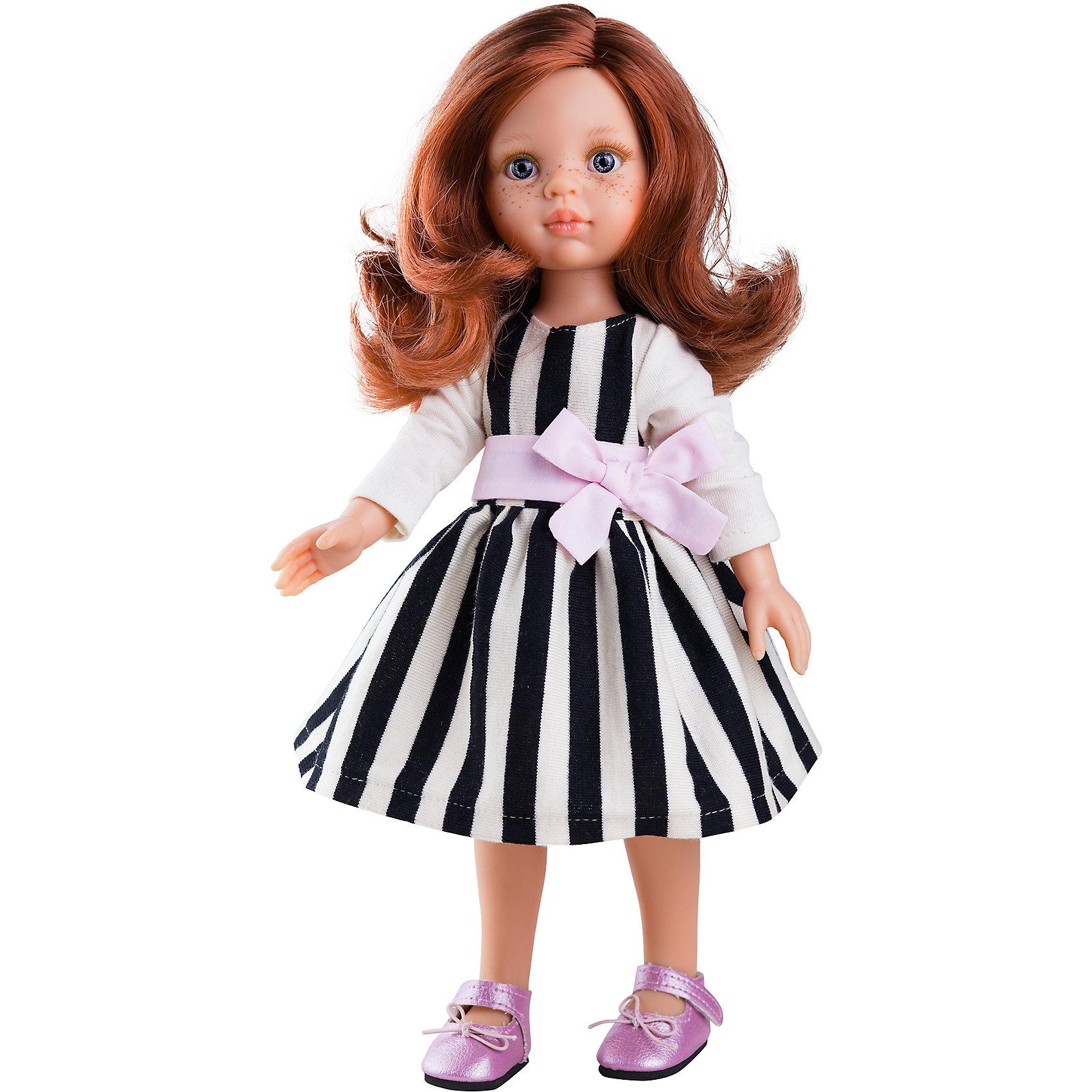Кукла Кристи, 32 см, Paola ReinaКлассические куклы<br><br><br>Ширина мм: 375<br>Глубина мм: 175<br>Высота мм: 105<br>Вес г: 625<br>Возраст от месяцев: 36<br>Возраст до месяцев: 144<br>Пол: Женский<br>Возраст: Детский<br>SKU: 6671054