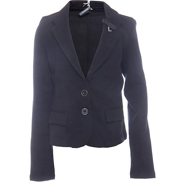Пиджак для девочки LuminosoКостюмы и пиджаки<br>Характеристики товара:<br><br>• цвет: черный;<br>• состав: 65% хлопок 30% полиэстер 5% эластан;<br>• сезон: демисезон;<br>• особенности: школьный, приталенный;<br>• застежка: пуговицы;<br>• без подкладки;<br>• два прорезных кармана;<br>• страна бренда: Россия;<br>• страна производства: Китай.<br><br>Приталенный черный пиджак для девочки из хлопка. Школьный пиджак застегивается на пуговки. Декорирован двумя прорезными карманами.<br><br>Пиджак для девочки Luminoso (Люминосо) можно купить в нашем интернет-магазине.<br>Ширина мм: 190; Глубина мм: 74; Высота мм: 229; Вес г: 236; Цвет: черный; Возраст от месяцев: 72; Возраст до месяцев: 84; Пол: Женский; Возраст: Детский; Размер: 122,164,158,152,146,140,134,128; SKU: 6672734;