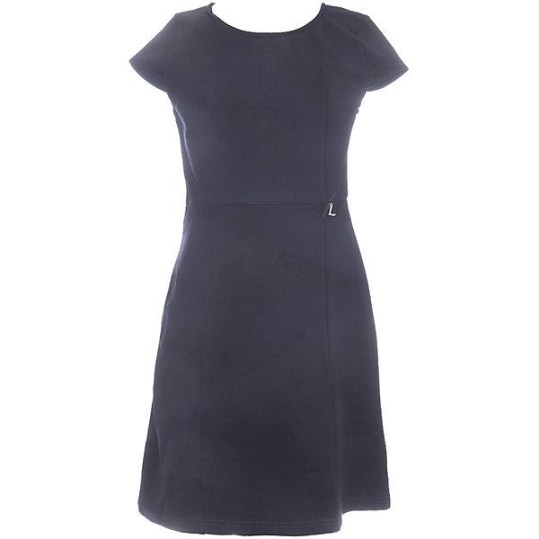 Платье для девочки LuminosoПлатья и сарафаны<br>Характеристики товара:<br><br>• цвет: черный;<br>• состав: 65% хлопок 30% полиэстер 5% эластан;<br>• сезон: демисезон;<br>• особенности: школьное, приталенное;<br>• застежка: молния;<br>• с коротким рукавом:<br>• декорировано бантиком;<br>• страна бренда: Россия;<br>• страна производства: Китай.<br><br>Черное классическое трикотажное платье с коротким рукавом для девочки приталенного кроя с округлым вырезом и коротким рукавом. Школьное платье застегивается на молнию на спине.<br><br>Платье для девочки Luminoso (Люминосо) можно купить в нашем интернет-магазине.<br>Ширина мм: 236; Глубина мм: 16; Высота мм: 184; Вес г: 177; Цвет: черный; Возраст от месяцев: 84; Возраст до месяцев: 96; Пол: Женский; Возраст: Детский; Размер: 128,122,164,158,152,146,140,134; SKU: 6672815;