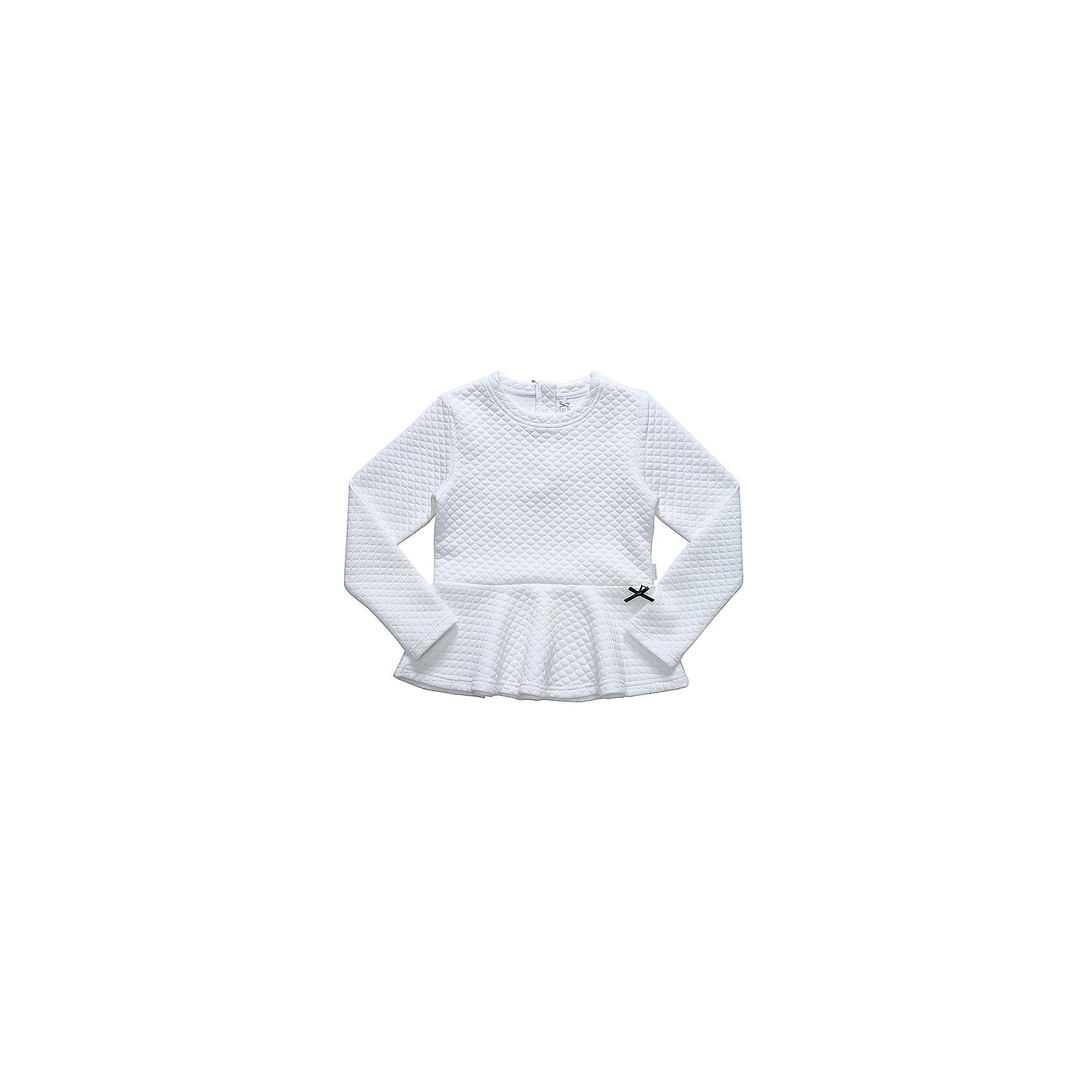 Блузка для девочки LuminosoБлузки и рубашки<br>Характеристики товара:<br><br>• цвет: белый;<br>• состав: 65% хлопок 35% полиэстер;<br>• сезон: демисезон;<br>• особенности: школьная, однотонная;<br>• с длинным рукавом:<br>• декорирована баской;<br>• страна бренда: Россия;<br>• страна производства: Китай.<br><br>Школьная блузка с длинным рукавом для девочки. Белая блузка декорирована баской.<br><br>Блузка для девочки Luminoso (Люминосо) можно купить в нашем интернет-магазине.<br><br>Ширина мм: 186<br>Глубина мм: 87<br>Высота мм: 198<br>Вес г: 197<br>Цвет: белый<br>Возраст от месяцев: 120<br>Возраст до месяцев: 132<br>Пол: Женский<br>Возраст: Детский<br>Размер: 146,164,122,128,134,140,152,158<br>SKU: 6672869