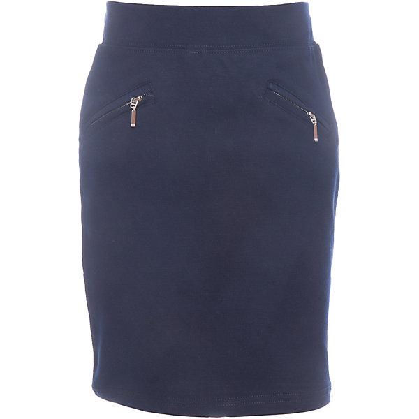 Юбка для девочки LuminosoЮбки<br>Характеристики товара:<br><br>• цвет: темно-синий;<br>• состав: 65% хлопок, 30% полиэстер, 5% эластан;<br>• сезон: демисезон;<br>• особенности: школьная, на резинке;<br>• классическая юбка;<br>• пояс на эластичной резинке;<br>• два кармана на молнии;<br>• страна бренда: Россия;<br>• страна производства: Китай.<br><br>Школьная юбка для девочки. Классическая юбка темно-синего цвета. Юбка на резинке, два кармана на молнии.<br><br>Юбка для девочки Luminoso (Люминосо) можно купить в нашем интернет-магазине.<br>Ширина мм: 207; Глубина мм: 10; Высота мм: 189; Вес г: 183; Цвет: синий; Возраст от месяцев: 72; Возраст до месяцев: 84; Пол: Женский; Возраст: Детский; Размер: 122,164,158,152,146,140,134,128; SKU: 6673166;