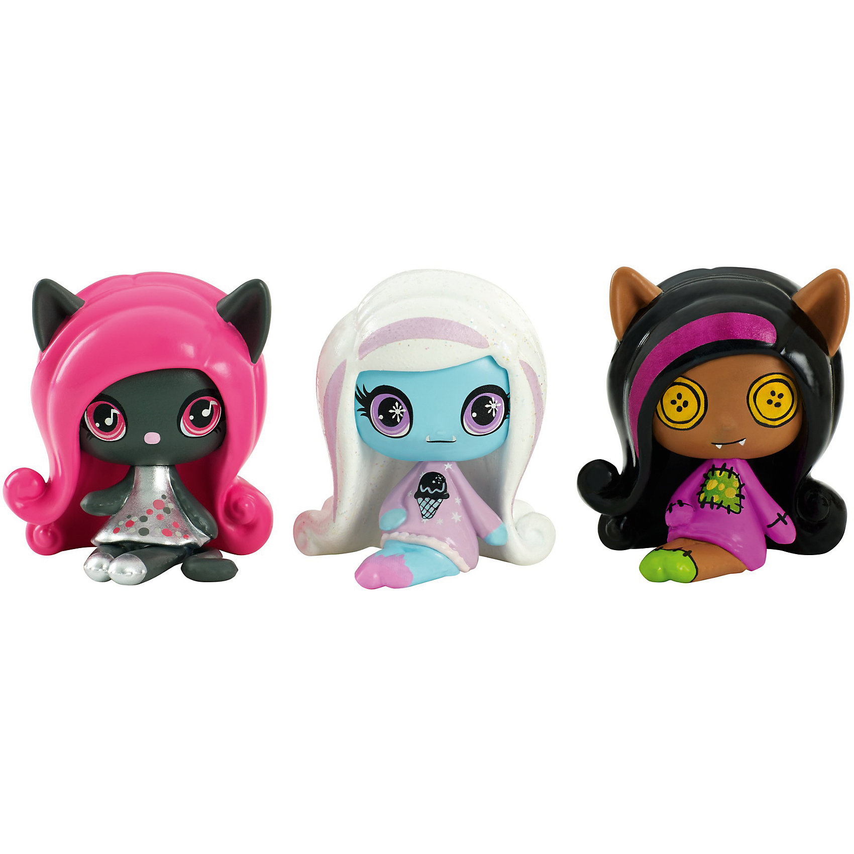 3 Мини фигурки, Monster High