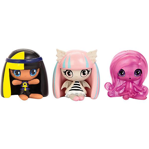3 Мини фигурки, Monster HighКоллекционные фигурки<br>Характеристики товара:<br><br>• возраст от 6 лет;<br>• материал: пластик;<br>• в комплекте: 3 фигурки;<br>• высота фигурки 3,8 см;<br>• размер упаковки 20,3х15,2х3,8 см;<br>• вес упаковки 134 гр.;<br>• страна производитель: Китай.<br><br>3 мини-фигурки Monster High — набор фигурок известных персонажей из мультсериала Monster High, созданных на основе фильмов ужасов и фильмов про монстров. С фигурками можно не только придумать сюжетно-ролевые игры, но и собрать свою коллекцию любимых героев.<br><br>3 мини-фигурки Monster High можно приобрести в нашем интернет-магазине.<br><br>Ширина мм: 203<br>Глубина мм: 38<br>Высота мм: 152<br>Вес г: 134<br>Возраст от месяцев: 72<br>Возраст до месяцев: 120<br>Пол: Женский<br>Возраст: Детский<br>SKU: 6673404