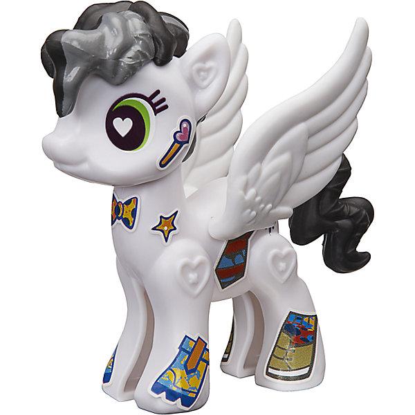 Игровой набор Hasbro My little Pony Создай свою пони, Старри АйсФигурки из мультфильмов<br>Характеристики товара:<br><br>• возраст: от 4 лет;<br>• материал: пластик;<br>• в комплекте: фигурка пони, аксессуары;<br>• размер упаковки: 20,5х14,9х16,2 см;<br>• вес упаковки: 65 гр.;<br>• страна производитель: Китай.<br><br>Игровой набор «Создай свою пони» My Little Pony создан по мотивам известного мультсериала. В наборе фигурка пони и аксессуары для придания пони стильного образа. Наклейками можно украсить пони, проявив фантазию. <br><br>Игровой набор «Создай свою пони» My Little Pony Hasbro B3592/B5106можно приобрести в нашем интернет-магазине.<br><br>Ширина мм: 205<br>Глубина мм: 162<br>Высота мм: 149<br>Вес г: 65<br>Возраст от месяцев: 48<br>Возраст до месяцев: 2147483647<br>Пол: Женский<br>Возраст: Детский<br>SKU: 6674418