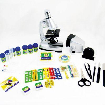 Shantou Gepai Набор Юный исследователь с микроскопом и аксессуарами