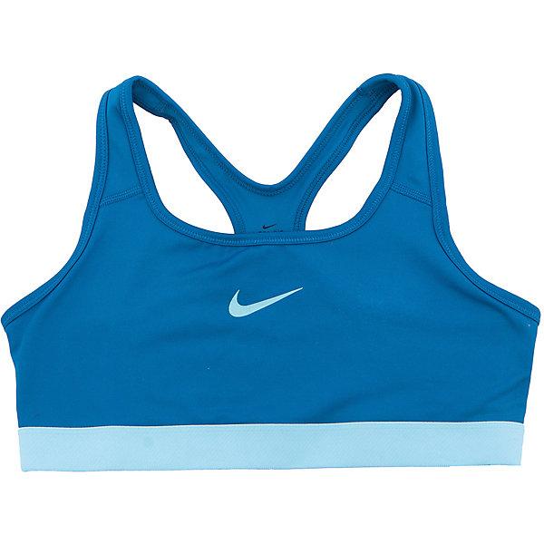 Топ NIKEСпортивная форма<br>Характеристики товара:<br><br>• цвет: синий<br>• спортивный стиль<br>• состав: полиэстер 88%, эластан 12%, материал Dri-FIT<br>• ткань выводит лишнюю влагу<br>• комфортная посадка<br>• ткань оказывает поддержку мышцам и стимулирует кровообращение<br>• мягкие швы не натирают<br>• не сковывает движения<br>• без рукавов<br>• принт<br>• машинная стирка<br>• износостойкий материал<br>• коллекция: весна-лето 2017<br>• страна бренда: США<br>• страна изготовитель: Шри-Ланка<br><br>Продукция бренда NIKE известна высоким качеством и уникальным узнаваемым дизайном. Материал Dri-FIT, из которого сшито изделие, помогает создать для тела необходимую вентиляцию и вывод влаги.<br><br>Материал Dri-FIT также обеспечивает вещам долгий срок службы и отличный внешний вид даже после значительного количества стирок. Уход за изделием прост - достаточно машинной стирки на низкой температуре.<br><br>Легкий и эластичный материал создает комфортную посадку, вещь при этом смотрится очень стильно. Благодаря универсальному цвету она отлично смотрится с разной одеждой и обувью.<br><br>Топ NIKE (Найк) можно купить в нашем интернет-магазине.<br><br>Ширина мм: 199<br>Глубина мм: 10<br>Высота мм: 161<br>Вес г: 151<br>Цвет: синий<br>Возраст от месяцев: 108<br>Возраст до месяцев: 120<br>Пол: Унисекс<br>Возраст: Детский<br>Размер: 135/140,122/128,158/170,147/158,128/134<br>SKU: 6676564