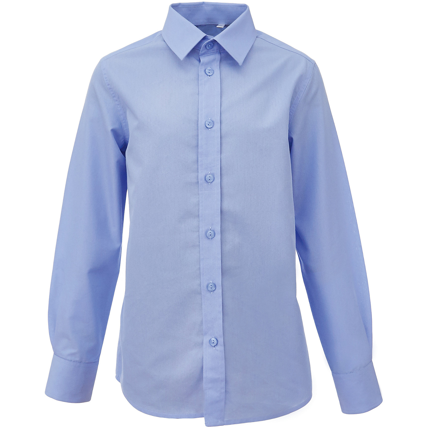 Рубашка для мальчика GulliverБлузки и рубашки<br>Голубая школьная рубашка - классика жанра! Строгая, лаконичная, элегантная, голубая рубашка для школы настроит на серьезный и ответственный подход к делу. Хороший состав, качество и текстура ткани, модный силуэт, актуальная форма воротника делают рубашку отличным решением на каждый день, позволяющим ребенку чувствовать себя уверенно и достойно. Если вы хотите купить рубашку для ежедневного комфорта и отличного внешнего вида ребенка, детская рубашка от Gulliver- лучшее решение. Она сделает образ ученика стильным, свежим, интересным.<br>Состав:<br>80% хлопок          20% полиэстер<br><br>Ширина мм: 174<br>Глубина мм: 10<br>Высота мм: 169<br>Вес г: 157<br>Цвет: голубой<br>Возраст от месяцев: 96<br>Возраст до месяцев: 108<br>Пол: Мужской<br>Возраст: Детский<br>Размер: 134,140,146,170,152,158,164,128,122<br>SKU: 6678266