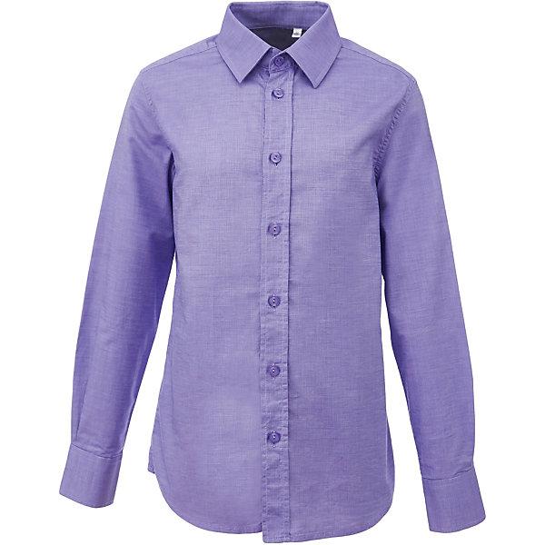 Рубашка для мальчика GulliverБлузки и рубашки<br>Характеристики товара:<br><br>• цвет: сиреневый<br>• состав: 100% хлопок<br>• сезон: круглый год<br>• особенности: школьная, повседневная<br>• воротник-стойка<br>• застежки: пуговицы<br>• с длинным рукавом<br>• манжеты на трех пуговицах<br>• страна бренда: Российская Федерация<br>• страна производства: Российская Федерация<br><br>Школьная рубашка с длинным рукавом для мальчика. Сиреневая рубашка застегивается на пуговицы, манжеты рукавов на трех пуговицах.<br><br>Рубашку для мальчика Gulliver (Гулливер) можно купить в нашем интернет-магазине.<br><br>Ширина мм: 174<br>Глубина мм: 10<br>Высота мм: 169<br>Вес г: 157<br>Цвет: лиловый<br>Возраст от месяцев: 72<br>Возраст до месяцев: 84<br>Пол: Мужской<br>Возраст: Детский<br>Размер: 122,170,164,158,152,146,140,134,128<br>SKU: 6678286