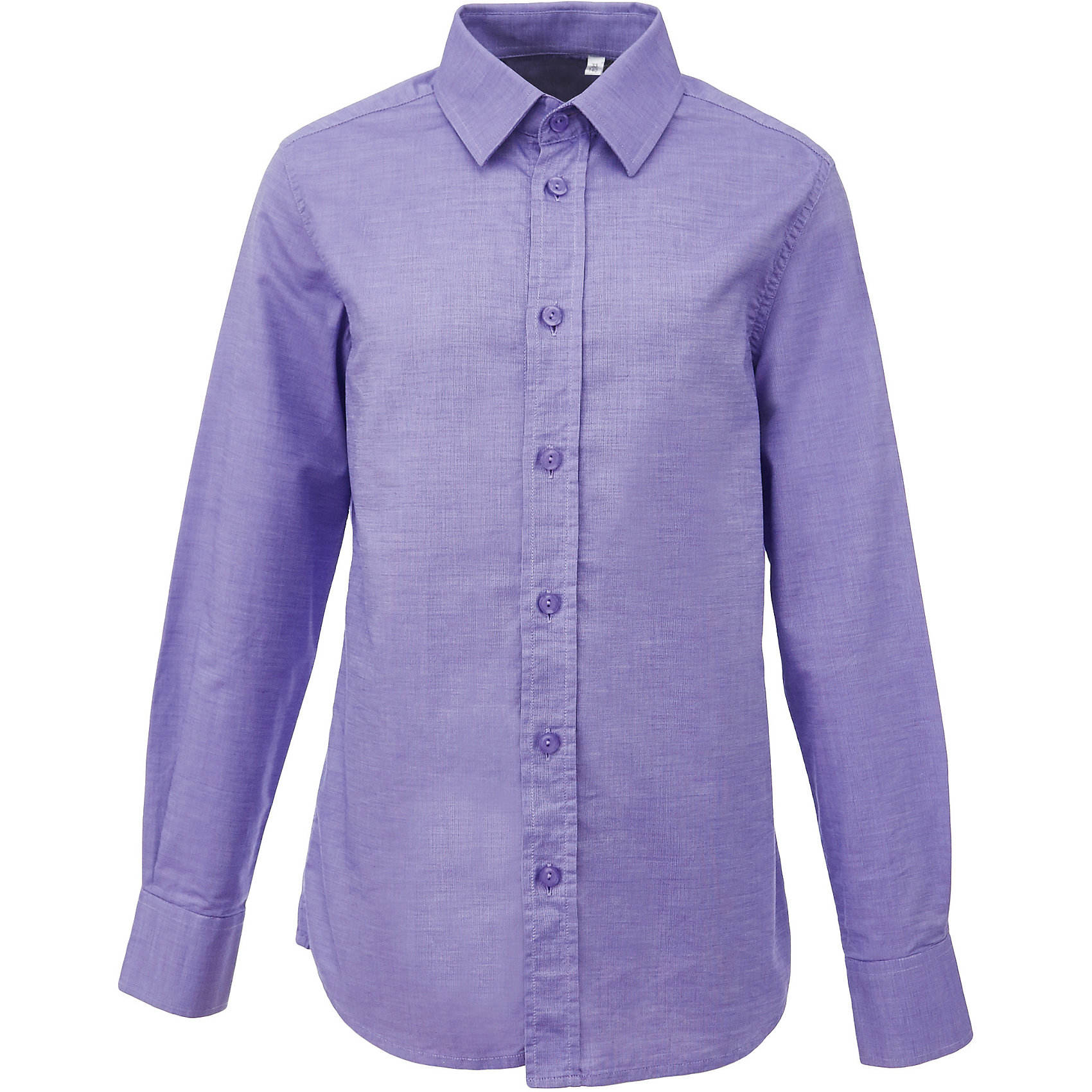 Рубашка для мальчика GulliverБлузки и рубашки<br>Характеристики товара:<br><br>• цвет: сиреневый<br>• состав: 100% хлопок<br>• сезон: круглый год<br>• особенности: школьная, повседневная<br>• воротник-стойка<br>• застежки: пуговицы<br>• с длинным рукавом<br>• манжеты на трех пуговицах<br>• страна бренда: Российская Федерация<br>• страна производства: Российская Федерация<br><br>Школьная рубашка с длинным рукавом для мальчика. Сиреневая рубашка застегивается на пуговицы, манжеты рукавов на трех пуговицах.<br><br>Рубашку для мальчика Gulliver (Гулливер) можно купить в нашем интернет-магазине.<br><br>Ширина мм: 174<br>Глубина мм: 10<br>Высота мм: 169<br>Вес г: 157<br>Цвет: лиловый<br>Возраст от месяцев: 168<br>Возраст до месяцев: 180<br>Пол: Мужской<br>Возраст: Детский<br>Размер: 170,122,128,134,140,146,152,158,164<br>SKU: 6678286