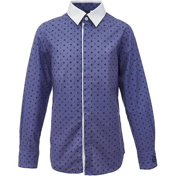Рубашка для мальчика GulliverБлузки и рубашки<br>Характеристики товара:<br><br>• цвет: синий<br>• состав: 80% хлопок, 20% полиэстер <br>• сезон: круглый год<br>• с длинным рукавом<br>• воротник-стойка<br>• застежки: пуговицы<br>• манжеты на трех пуговицах<br>• особенности: школьная, повседневная, с рисунком<br>• страна бренда: Российская Федерация<br>• страна производства: Российская Федерация<br><br>Школьная рубашка с длинным рукавом для мальчика. Синяя рубашка с мелким рисунком застегивается на пуговицы, манжеты рукавов на трех пуговицах. Воротник контрастного белого цвета.<br><br>Рубашку для мальчика Gulliver (Гулливер) можно купить в нашем интернет-магазине.<br>Ширина мм: 174; Глубина мм: 10; Высота мм: 169; Вес г: 157; Цвет: синий; Возраст от месяцев: 132; Возраст до месяцев: 144; Пол: Мужской; Возраст: Детский; Размер: 152,122,170,164,158,146,140,134,128; SKU: 6678336;