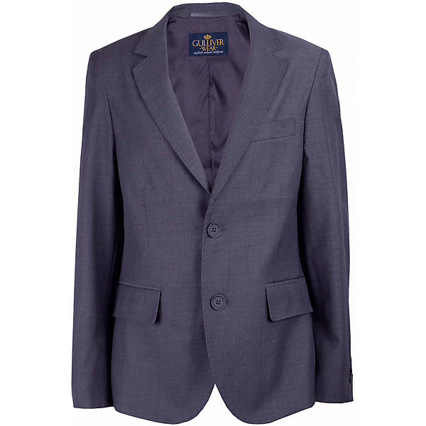 Пиджак для мальчика GulliverПиджаки и костюмы<br>Характеристики товара:<br><br>• цвет: серый<br>• состав: 10% шерсть, 25% вискоза, 65% полиэстер<br>• подкладка: 50% вискоза, 50% полиэстер <br>• сезон: демисезон<br>• застежки: пуговицы<br>• особенности: школьный, на подкладке<br>• страна бренда: Российская Федерация<br>• страна производства: Российская Федерация<br><br>Школьный пиджак для мальчика. Серый пиджак на подкладке застегивается на пуговицы.<br><br>Пиджак для мальчика Gulliver (Гулливер) можно купить в нашем интернет-магазине.<br>Ширина мм: 190; Глубина мм: 74; Высота мм: 229; Вес г: 236; Цвет: серый; Возраст от месяцев: 120; Возраст до месяцев: 132; Пол: Мужской; Возраст: Детский; Размер: 146,140,134,128,122,170,164,158,152; SKU: 6678506;