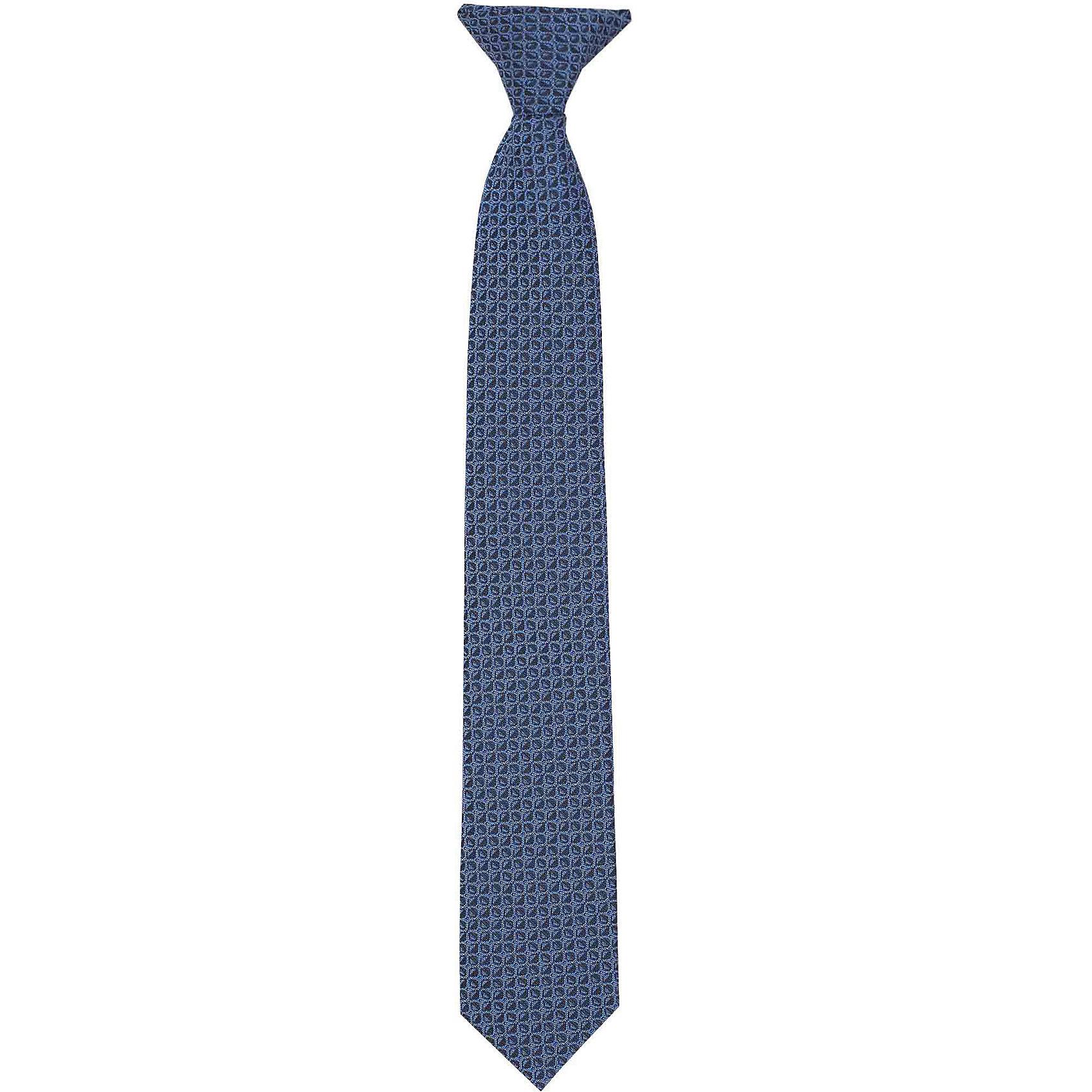 Галстук для мальчика GulliverАксессуары<br>Красивый галстук для школьной формы - достойное завершение делового ансамбля. Для удобства и экономии драгоценного утреннего времени, модель имеет аккуратную прищепку в невидимой зоне, позволяющую в течение нескольких секунд прикрепить галстук в воротнику сорочки. Купить галстук на прищепке, значит, приобрести стильный и удобный аксессуар для создания образа серьезного, уверенного в себе юноши.<br>Состав:<br>100% полиэстер<br><br>Ширина мм: 170<br>Глубина мм: 157<br>Высота мм: 67<br>Вес г: 117<br>Цвет: синий<br>Возраст от месяцев: 120<br>Возраст до месяцев: 132<br>Пол: Мужской<br>Возраст: Детский<br>Размер: 146,122<br>SKU: 6678586