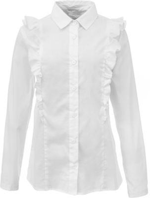 Блузка Для Девочки С Жабо Купить