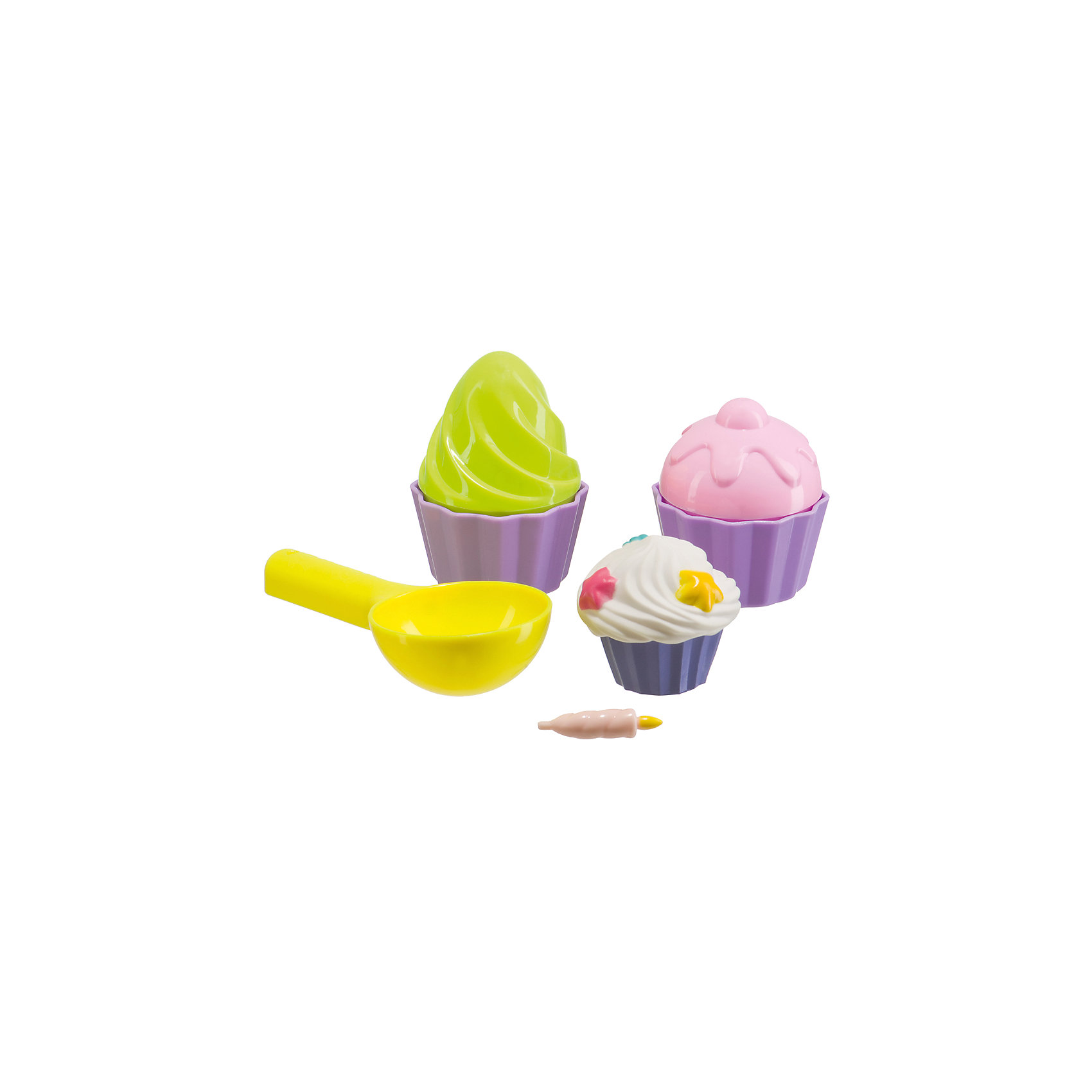 Набор для игр с песком Cake, Happy BabyИграем в песочнице<br>Характеристики:<br><br>• состав набора: 7 предметов;<br>• комплектация: 2 разборные формочки для кексов, ложка, пирожное, свечка;<br>• материал: пластик;<br>• размер упаковки: 16,5х9х9 см;<br>• вес: 80 г.<br><br>Игровой набор для песочницы – это возможность приготовить различные пирожные из песка, угостить друзей, развить фантазию. Разборные формочки для кексов и пирожных помогут создать куличи из песка. В комплект входит игрушечная свечка – можно устроить день рождения и предложить имениннику задуть свечу. <br><br>Набор для игр с песком Cake, Happy Baby можно купить в нашем интернет-магазине.<br><br>Ширина мм: 90<br>Глубина мм: 90<br>Высота мм: 165<br>Вес г: 80<br>Возраст от месяцев: 36<br>Возраст до месяцев: 2147483647<br>Пол: Унисекс<br>Возраст: Детский<br>SKU: 6679319