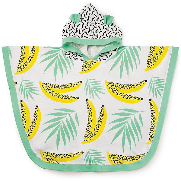 Полотенце с капюшоном, Happy BabyПеленки и полотенца<br>Характеристики:<br><br>• хорошо впитывает влагу;<br>• защищает ребенка от солнечных лучей;<br>• тип полотенца: пончо с капюшоном;<br>• оформление капюшона: с ушками;<br>• принт: бананы;<br>• материал: 100% хлопок;<br>• размер полотенца: 53х78,5 см;<br>• размер упаковки: 27,5х21х4 см;<br>• вес: 40 г.<br><br>Пляжное полотенце с капюшоном защищает ребенка от солнца, согревает после купания, вбирает в себя всю влагу после водных процедур. Полотенце-пончо с капюшоном быстро надевается на ребенка, позволяя обсушить накупавшегося кроху.<br><br>Полотенце с капюшоном, Happy Baby можно купить в нашем интернет-магазине.<br>Ширина мм: 40; Глубина мм: 210; Высота мм: 275; Вес г: 170; Возраст от месяцев: 6; Возраст до месяцев: 2147483647; Пол: Унисекс; Возраст: Детский; SKU: 6679326;