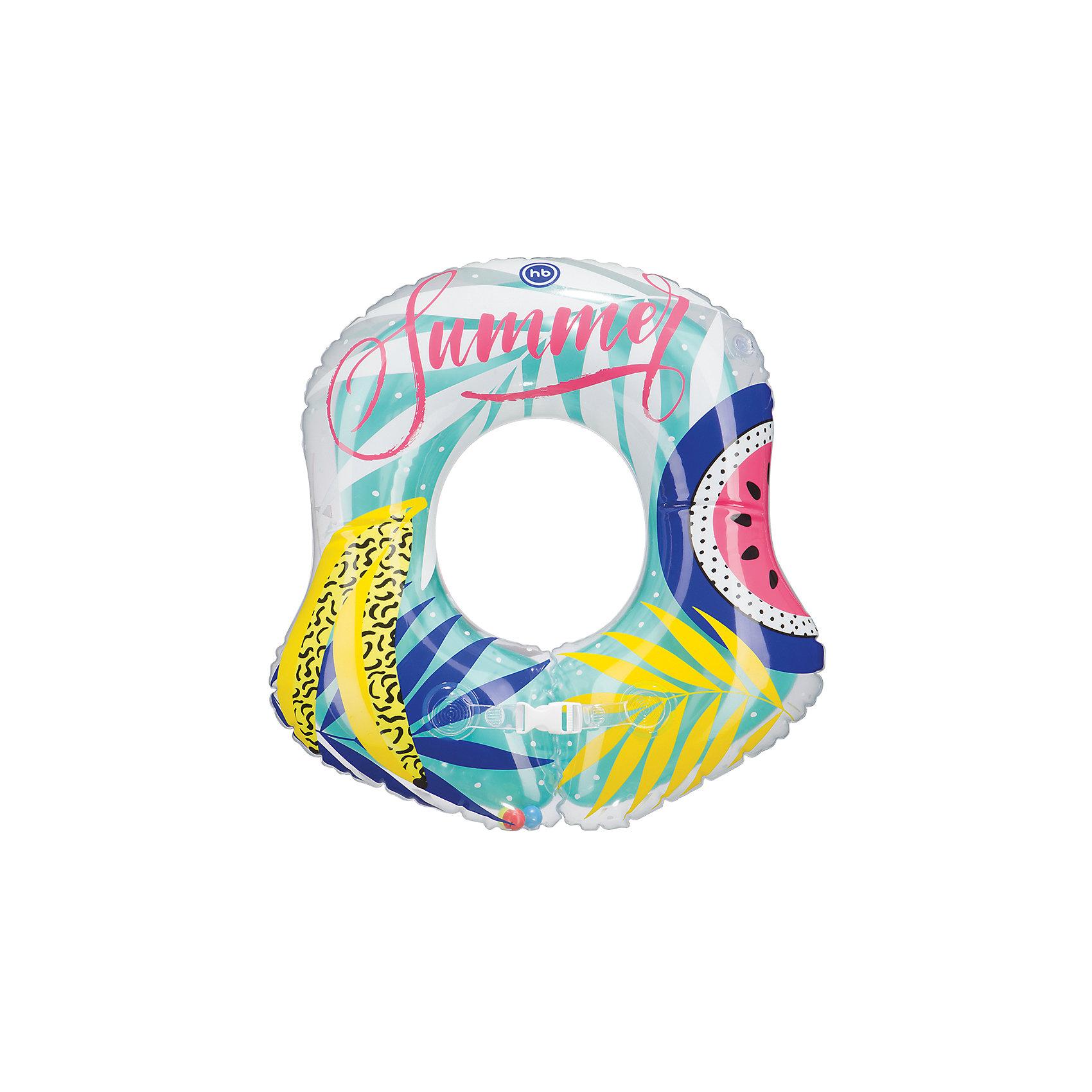 Круг для плавания Baloo, Happy BabyКруги для купания малыша<br>Характеристики:<br><br>• надувной круг для плавания;<br>• погремушка внутри круга;<br>• принт: лето;<br>• материал: ПВХ;<br>• размер упаковки: 21х27,5х4 см;<br>• вес: 40 г.<br><br>Надувной круг для плавания делает купание ребенка безопаснее. Родителям необходимо соблюдать правила безопасности, полностью контролировать ситуацию. Круг удерживает кроху на поверхности воды, позволяет родителям объяснить малышу технику плавания. <br><br>Круг для плавания Baloo, Happy Baby можно купить в нашем интернет-магазине.<br><br>Ширина мм: 40<br>Глубина мм: 210<br>Высота мм: 275<br>Вес г: 202<br>Возраст от месяцев: 24<br>Возраст до месяцев: 2147483647<br>Пол: Унисекс<br>Возраст: Детский<br>SKU: 6679327